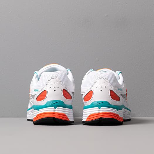 Nike W P 6000 White White Oracle Aqua Magic Flamingo | Footshop