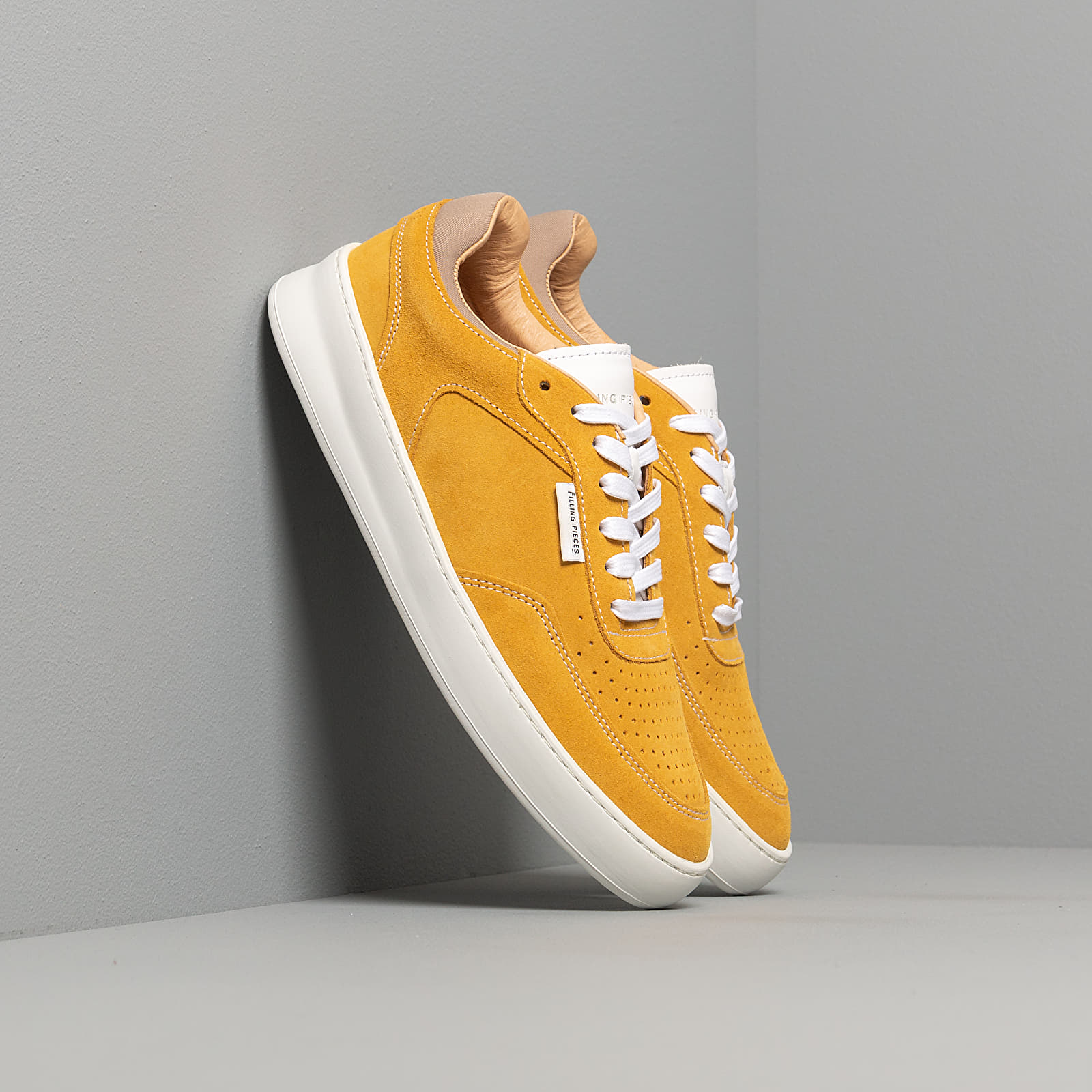 Men's shoes Filling Pieces Spate Plain Phase Yellow