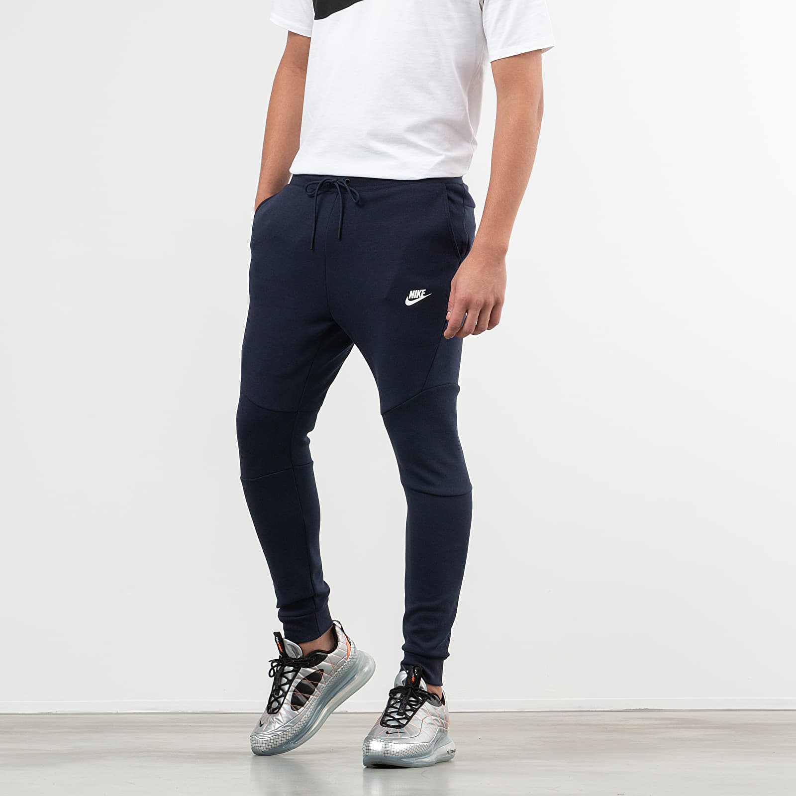 Nike Sportswear Tech Fleece Jogger Pants Obsidian White | Footshop
