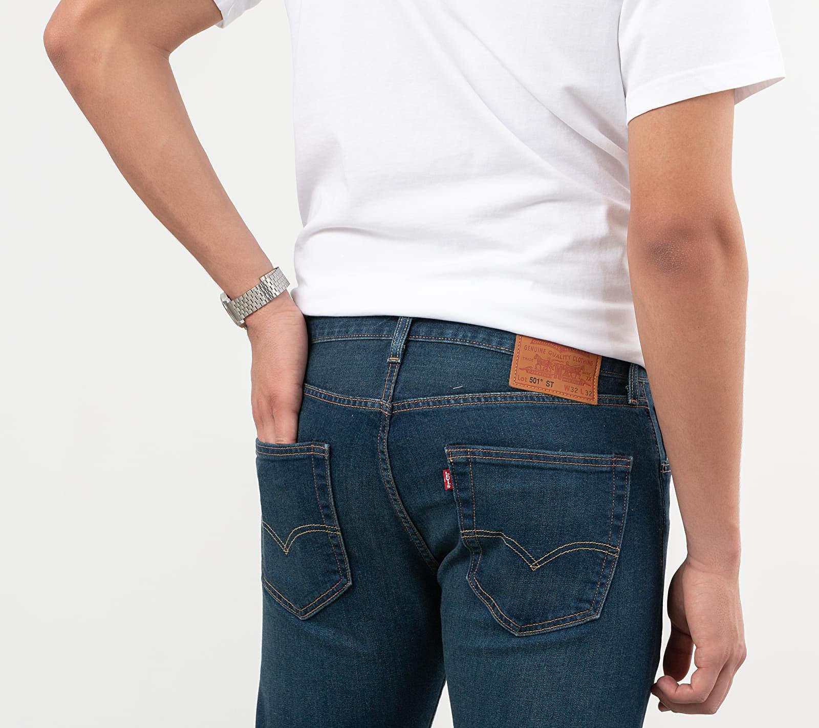 Levi's 501 Slim Taper Jeans Dark Blue