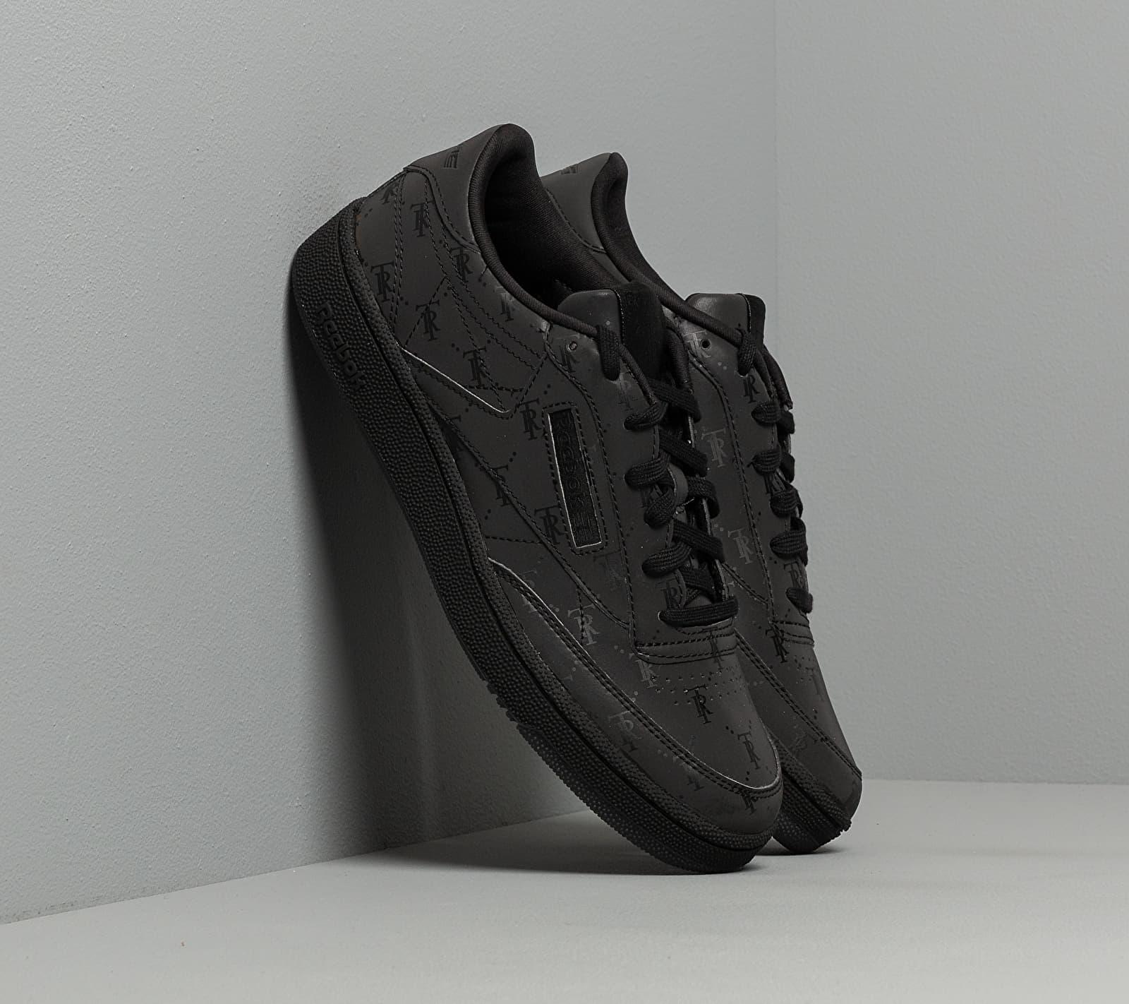 Reebok x Trés Rasché Club C 85 MU Black/ Black/ Black EUR 44.5