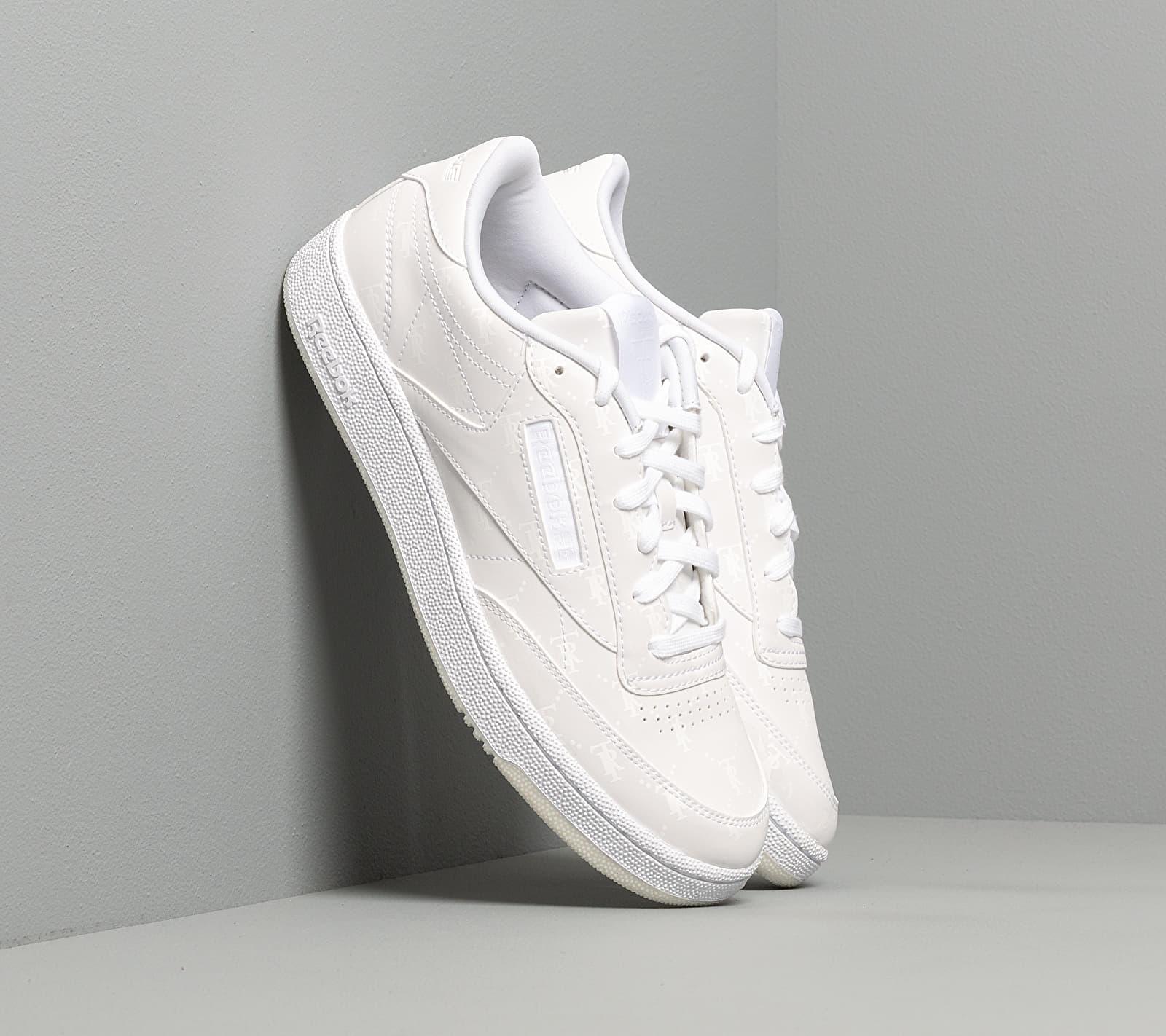 Reebok x Trés Rasché Club C 85 MU White/ White/ White EUR 42.5