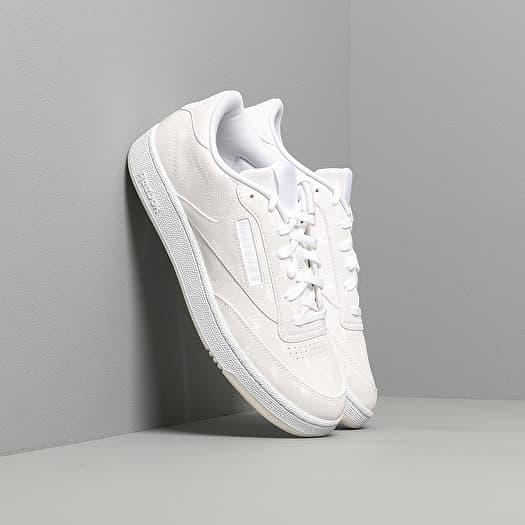 herramienta Plisado Censo nacional  Men's shoes Reebok x Trés Rasché Club C 85 MU White/ White/ White | Footshop