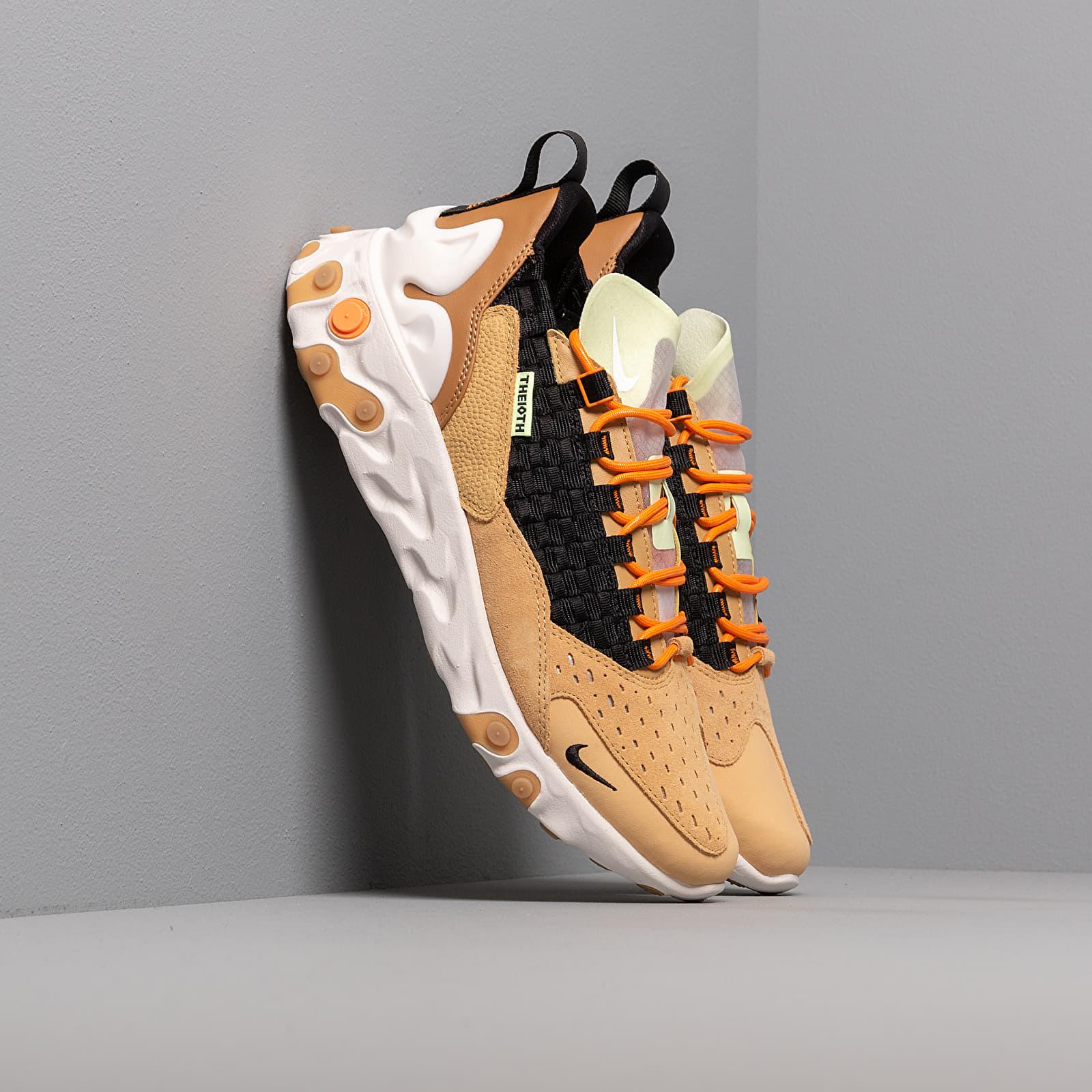 Pánske tenisky a topánky Nike React Sertu Club Gold/ Black-Wheat-Bright Ceramic