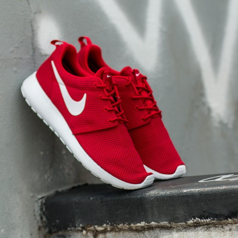 5ac48ecab8ca Nike Roshe One Gym Red  White- Black