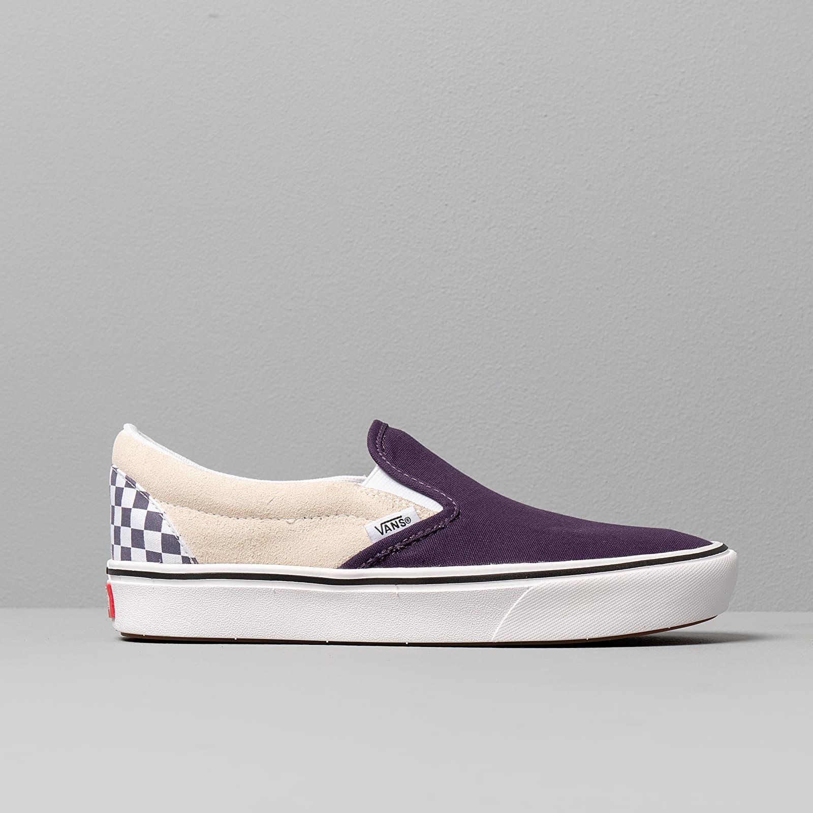 Vans ComfyCush Slip On (Checkerboard) Mysterioso | Footshop