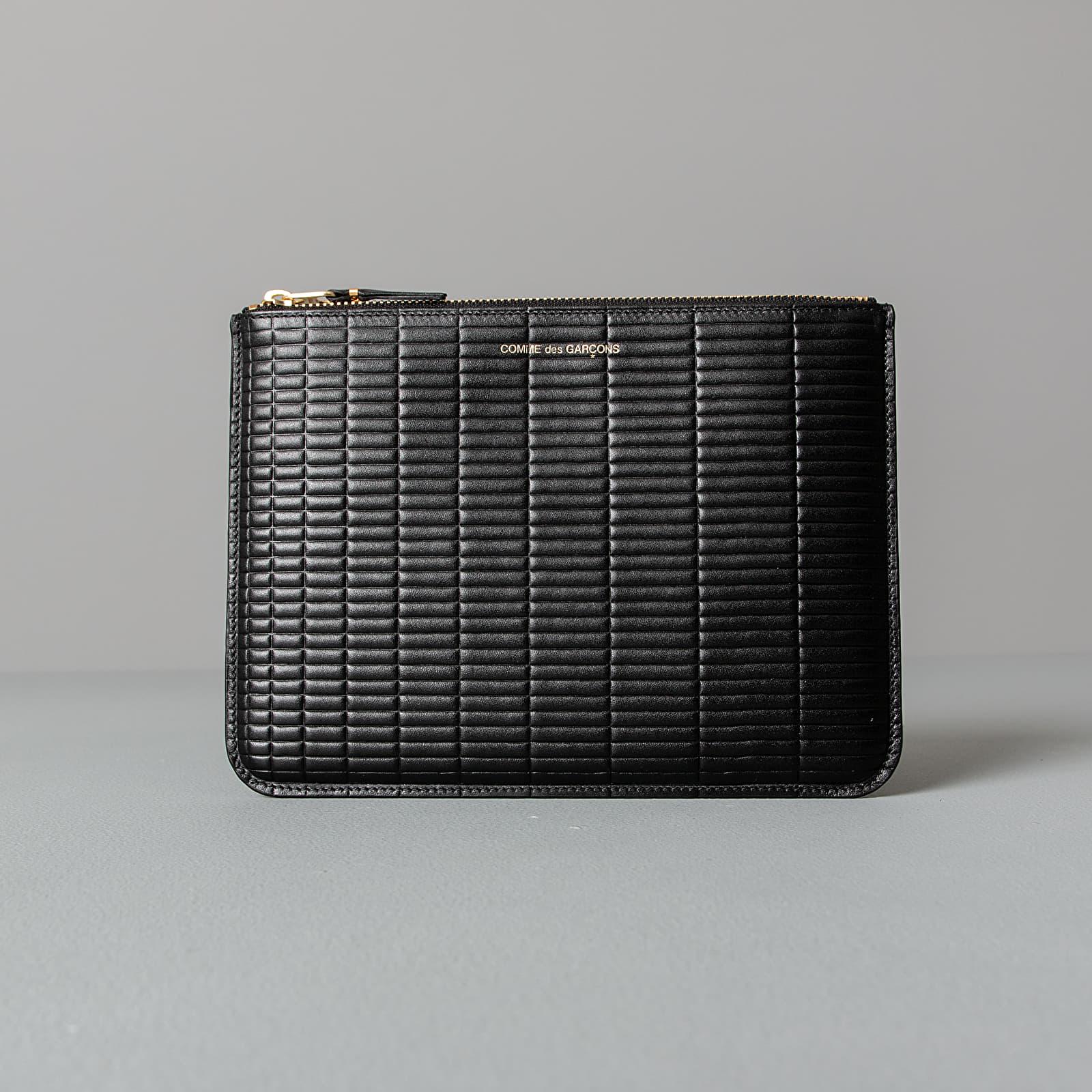 Portafogli Comme des Garçons Brick Line Wallet Black