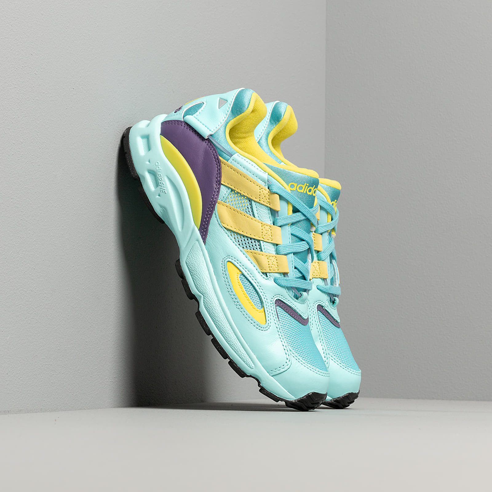 Chaussures et baskets homme adidas LXCON 94 Clear Aqua/ Light Aqua/ Shock Yellow