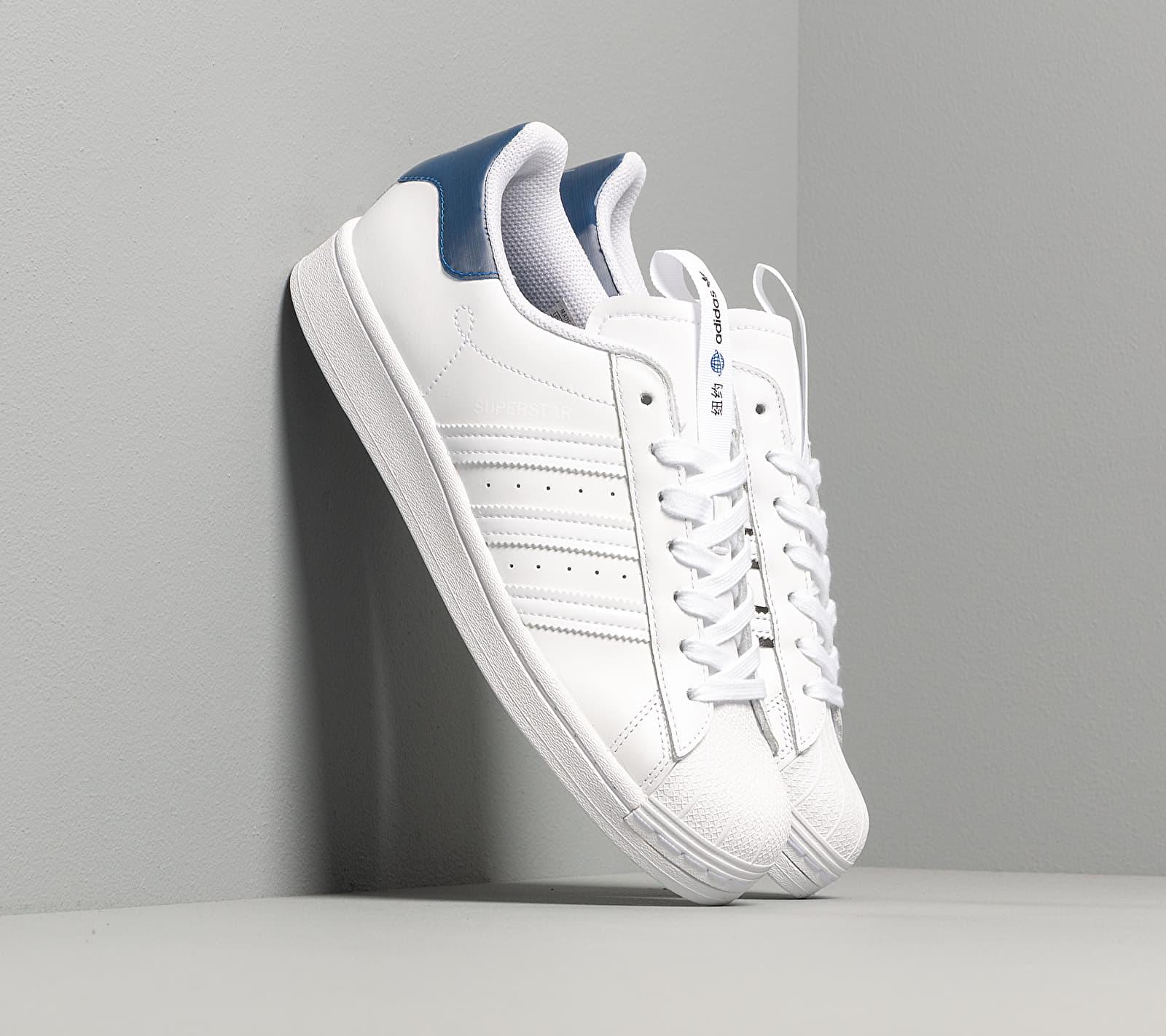 adidas Superstar Ftwr White/ Collegiate Royal/ Core Black EUR 39 1/3