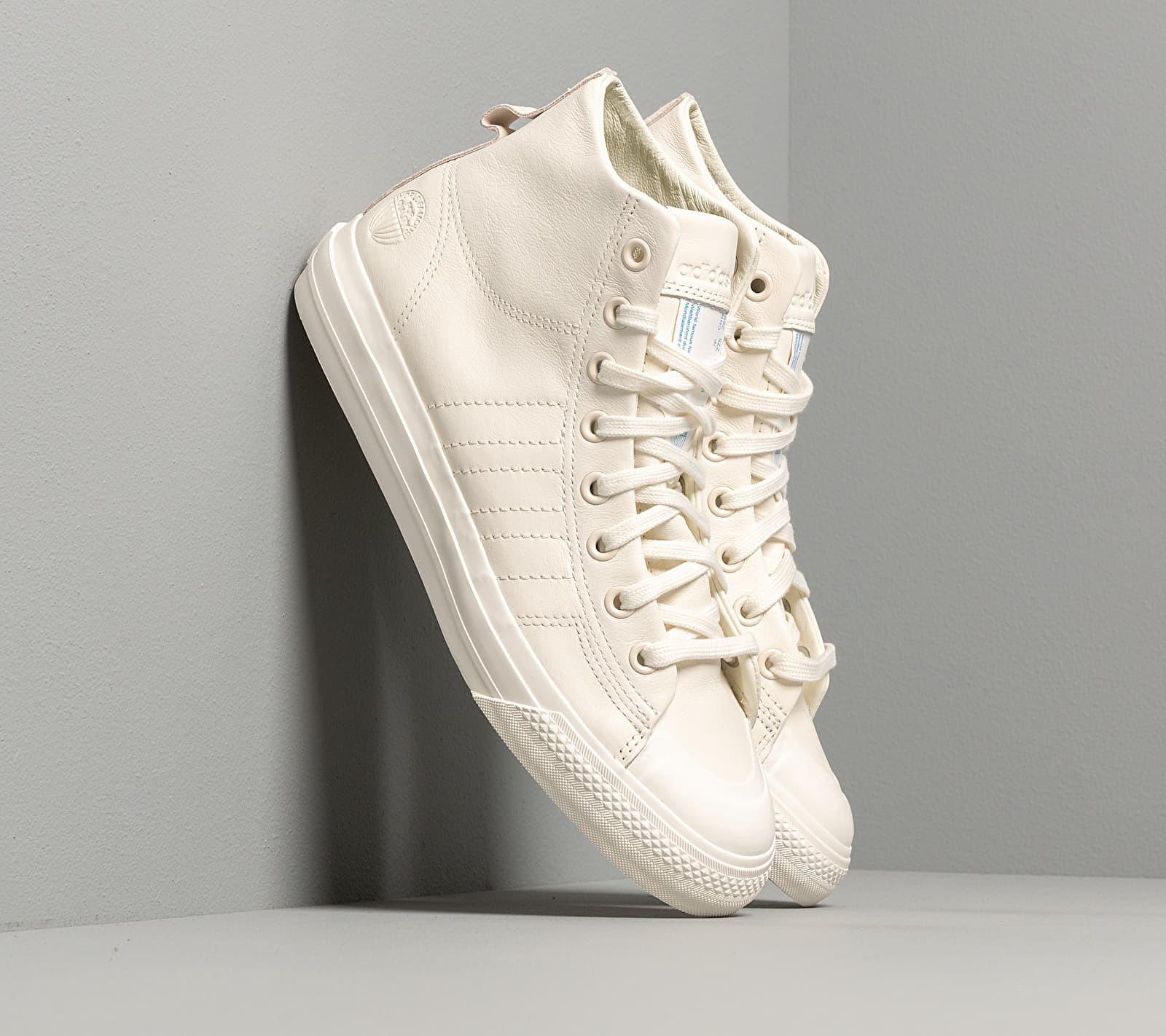 adidas Nizza Hi Rf Off White/ Off White/ Off White EUR 47 1/3