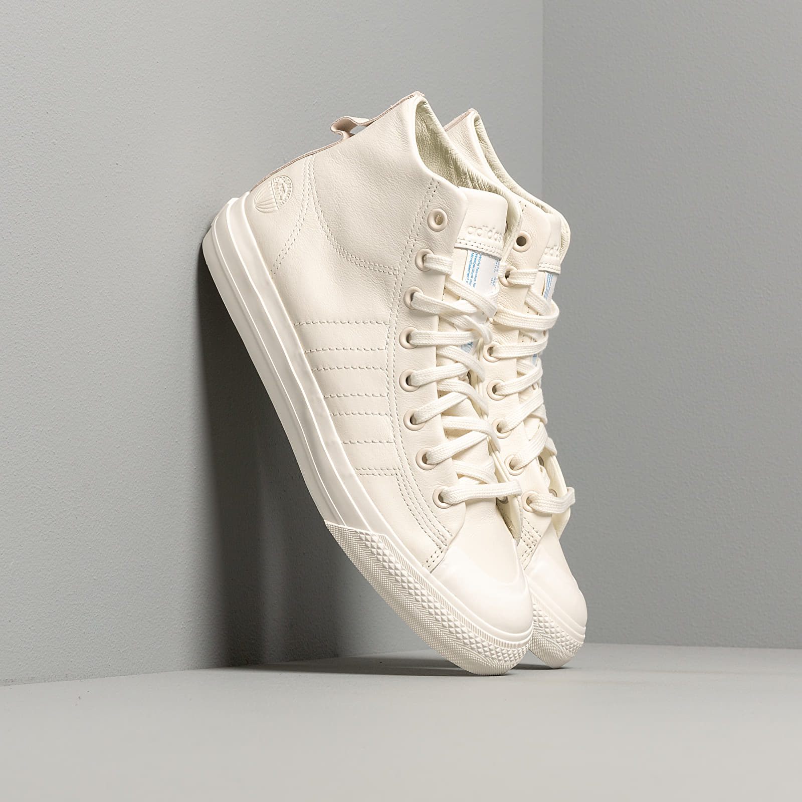 Men's shoes adidas Nizza Hi Rf Off White/ Off White/ Off White