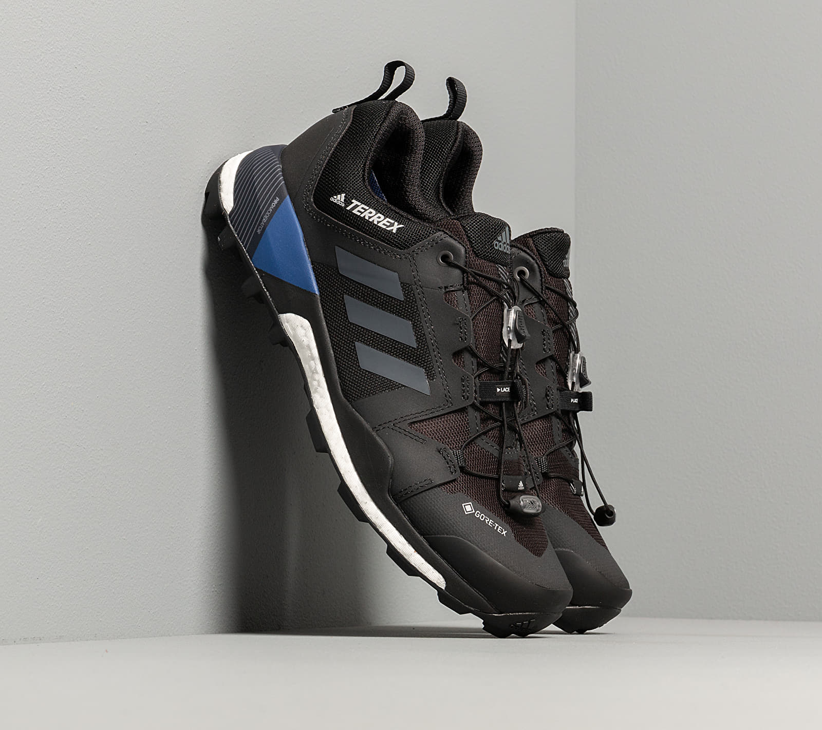 adidas Terrex Skychaser GTX Core Black/ Grey Three/ Core Royal EUR 41 1/3