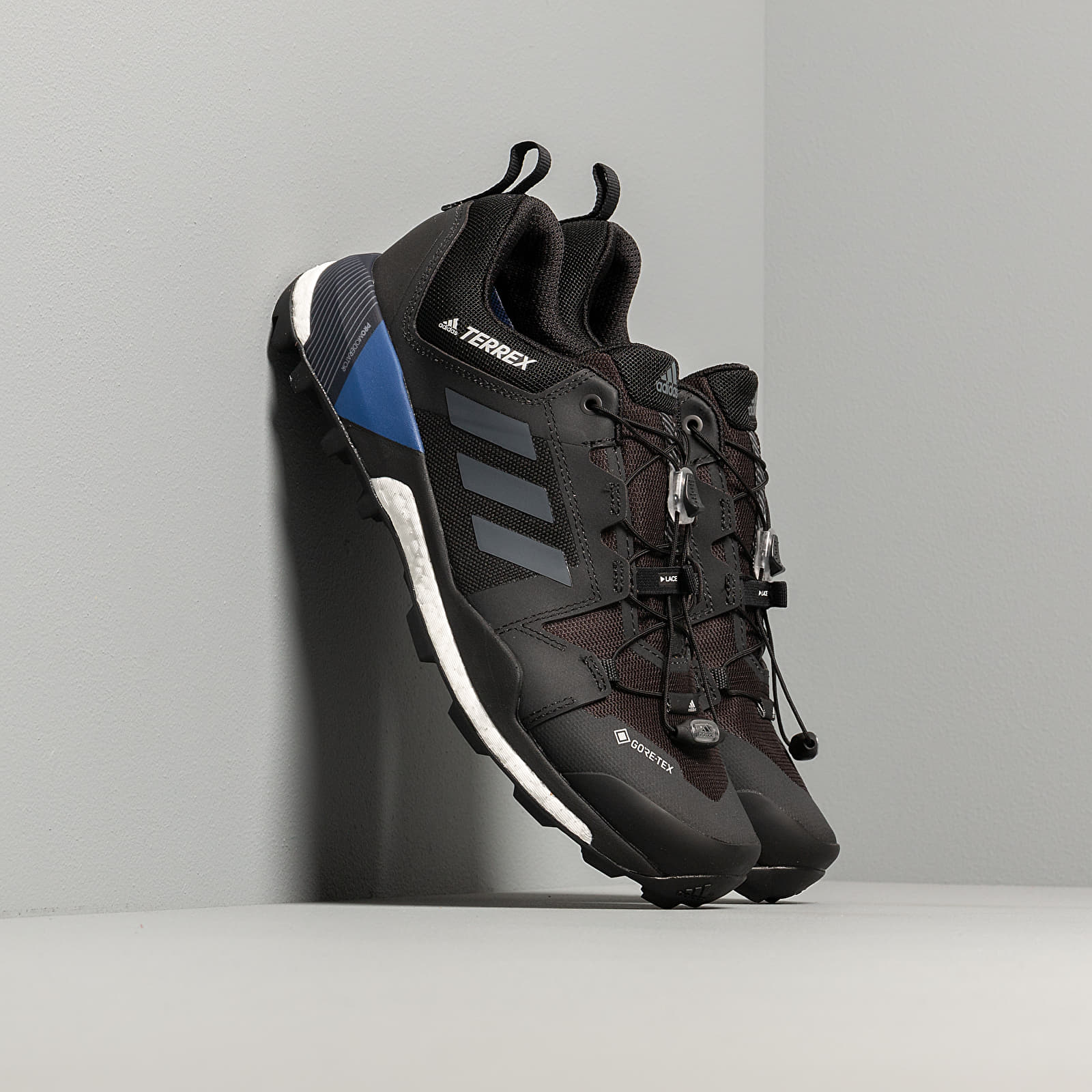 adidas Terrex Skychaser GTXCore Black Grey Three Core Royal