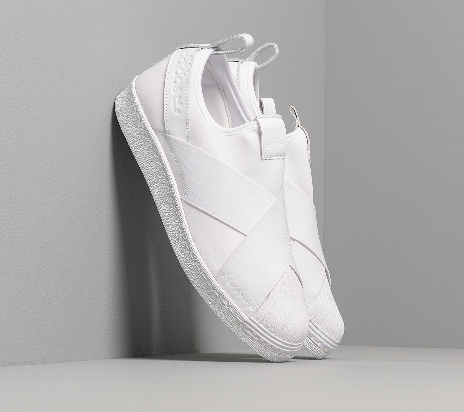 adidas Superstar Slip On Ftw White/ Ftw White/ Ftw White EUR 45 1/3