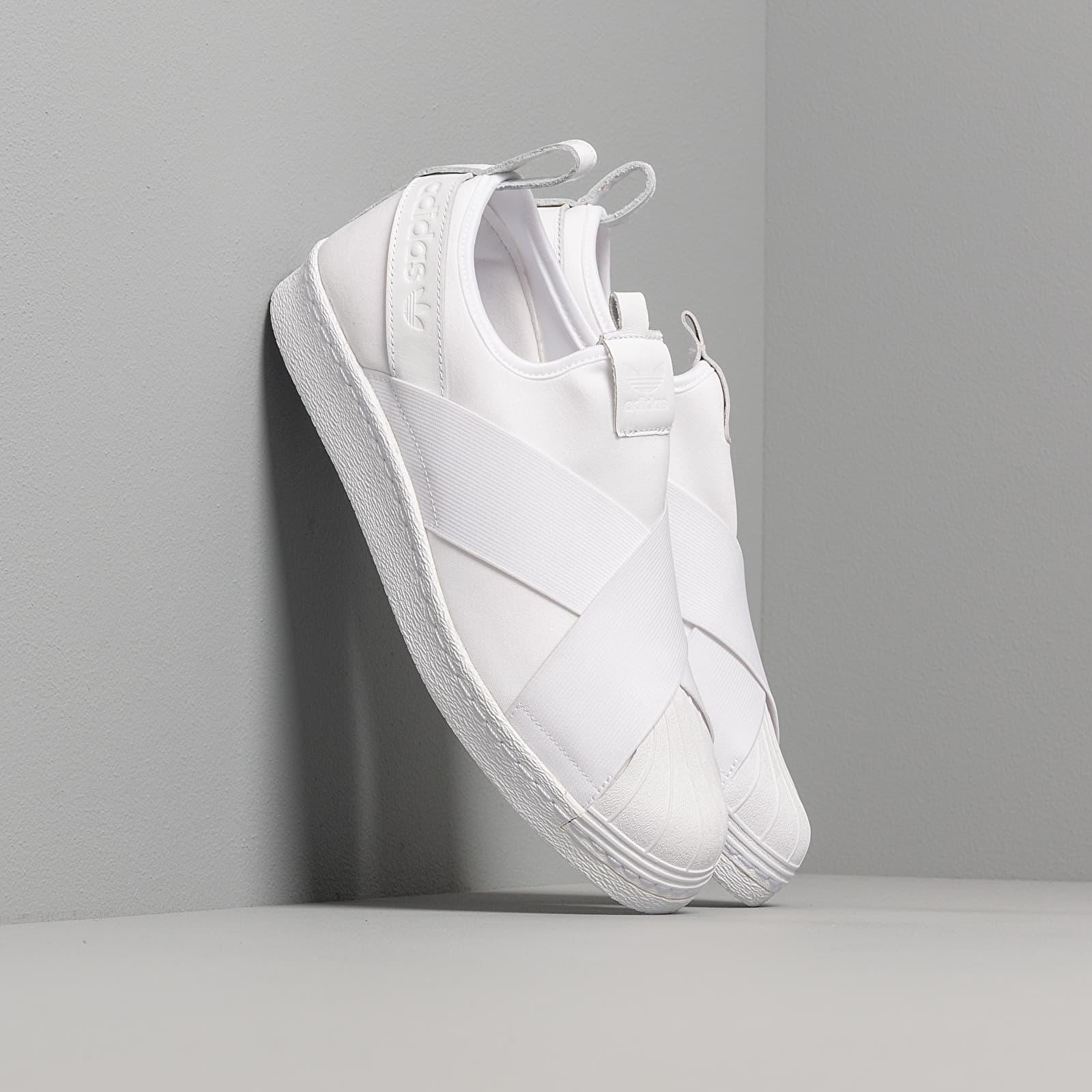 Scarpe e sneaker da uomo adidas Superstar Slip On Ftw White/ Ftw White/ Ftw White