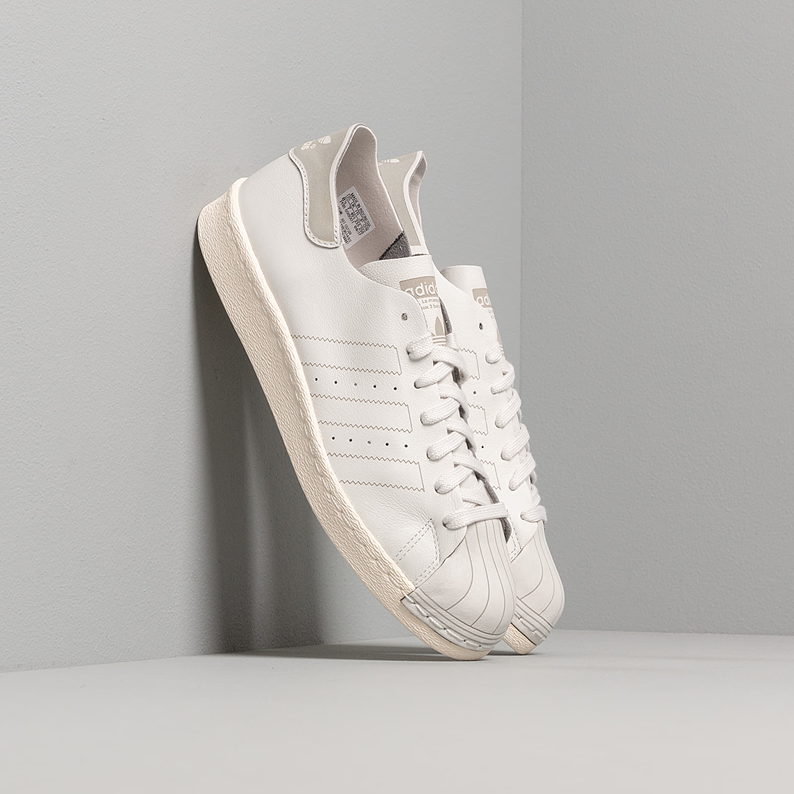 Women's shoes adidas Superstar 80s Decon W Grey One/ Grey One/ Off White