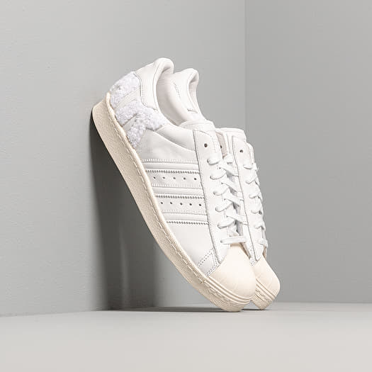 adidas Superstar 80s Crystal White/ Crystal White/ Off White | Footshop