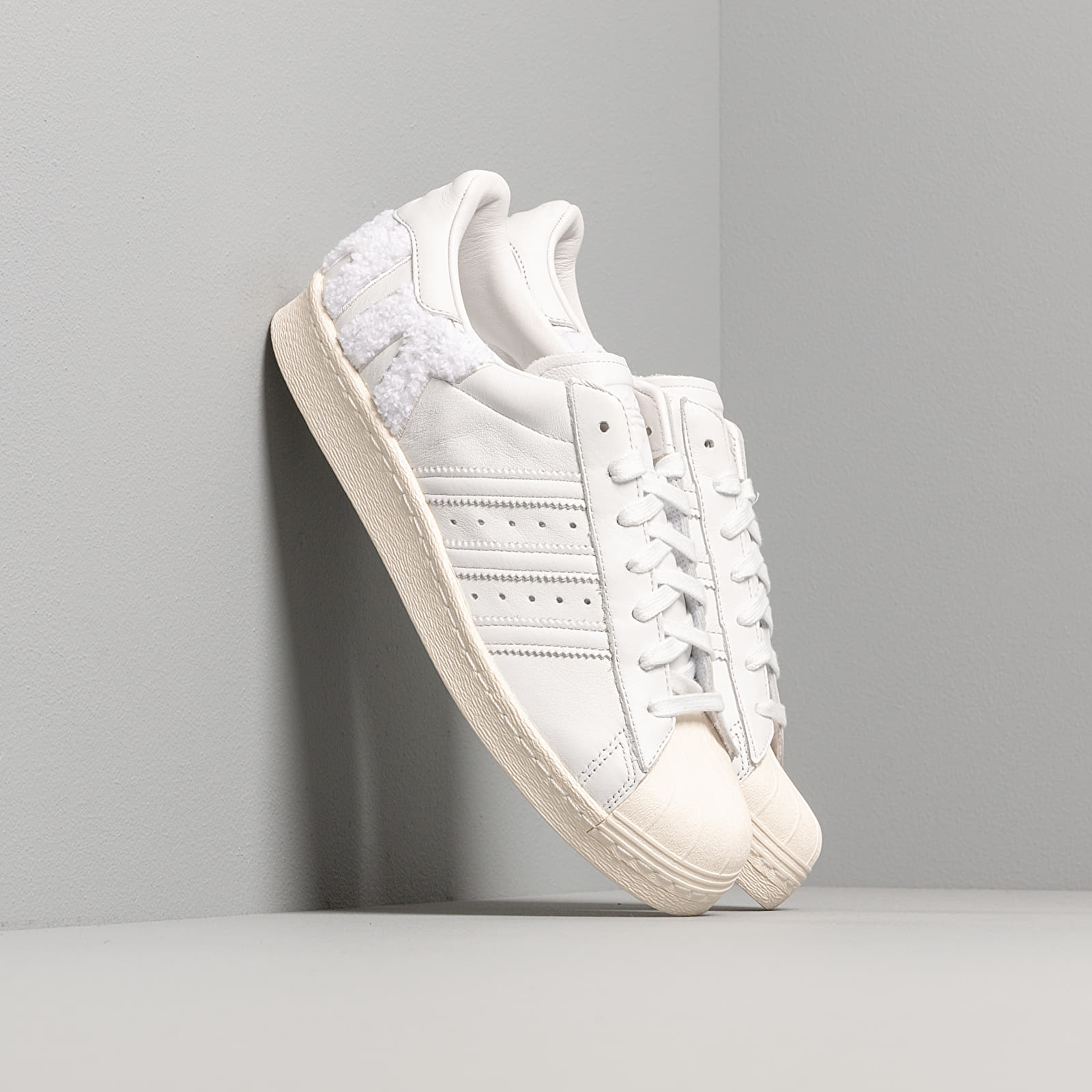 Мъжки кецове и обувки adidas Superstar 80s Crystal White/ Crystal White/ Off White