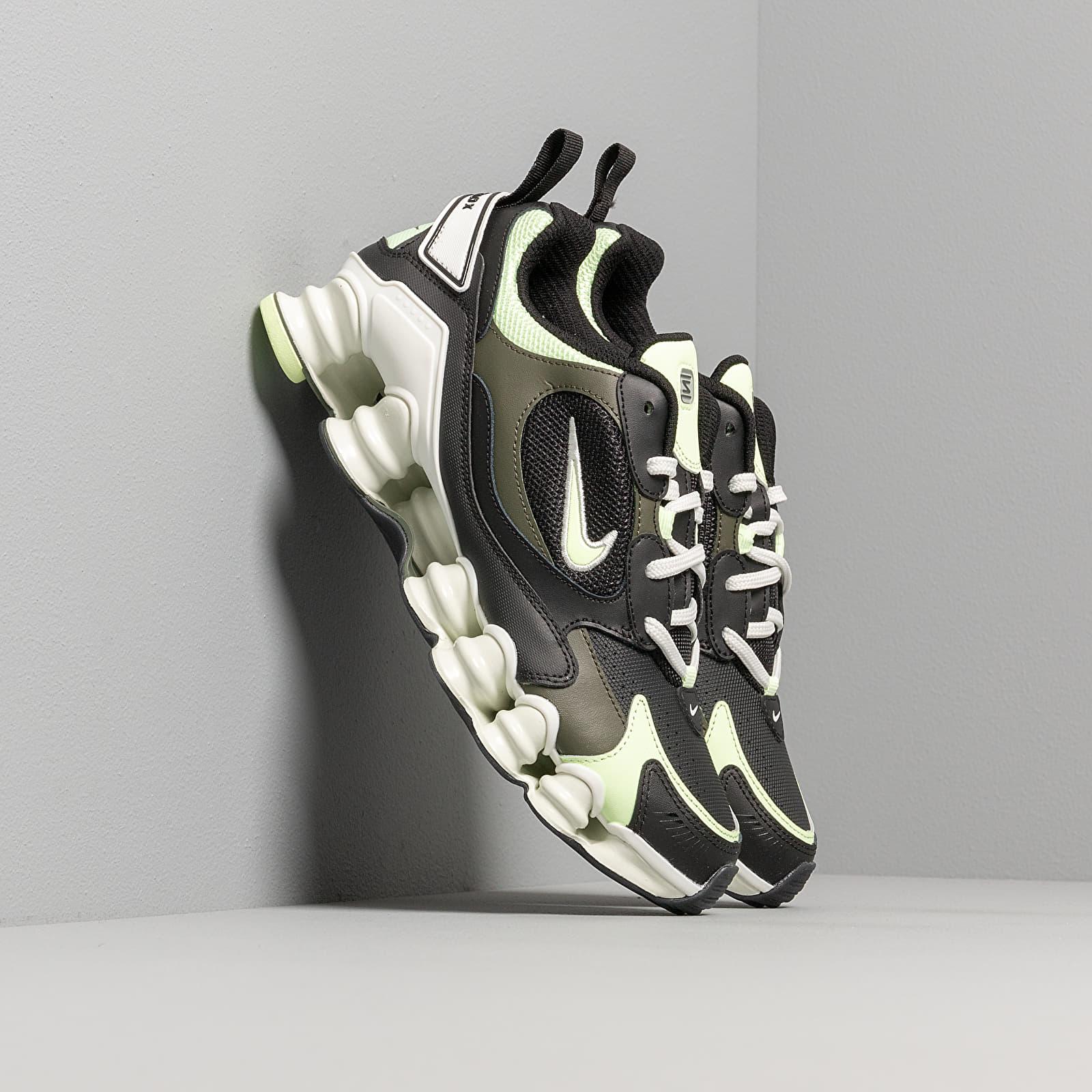 Chaussures et baskets femme Nike W Shox TL Nova Black/ Barely Volt-Cargo Khaki