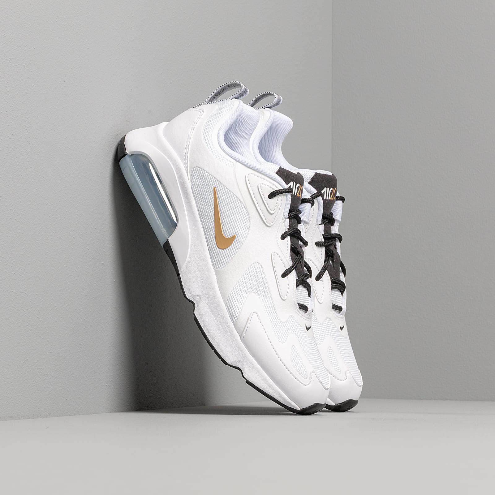 Nike W Air Max 200 White Metallic Gold Black | Footshop