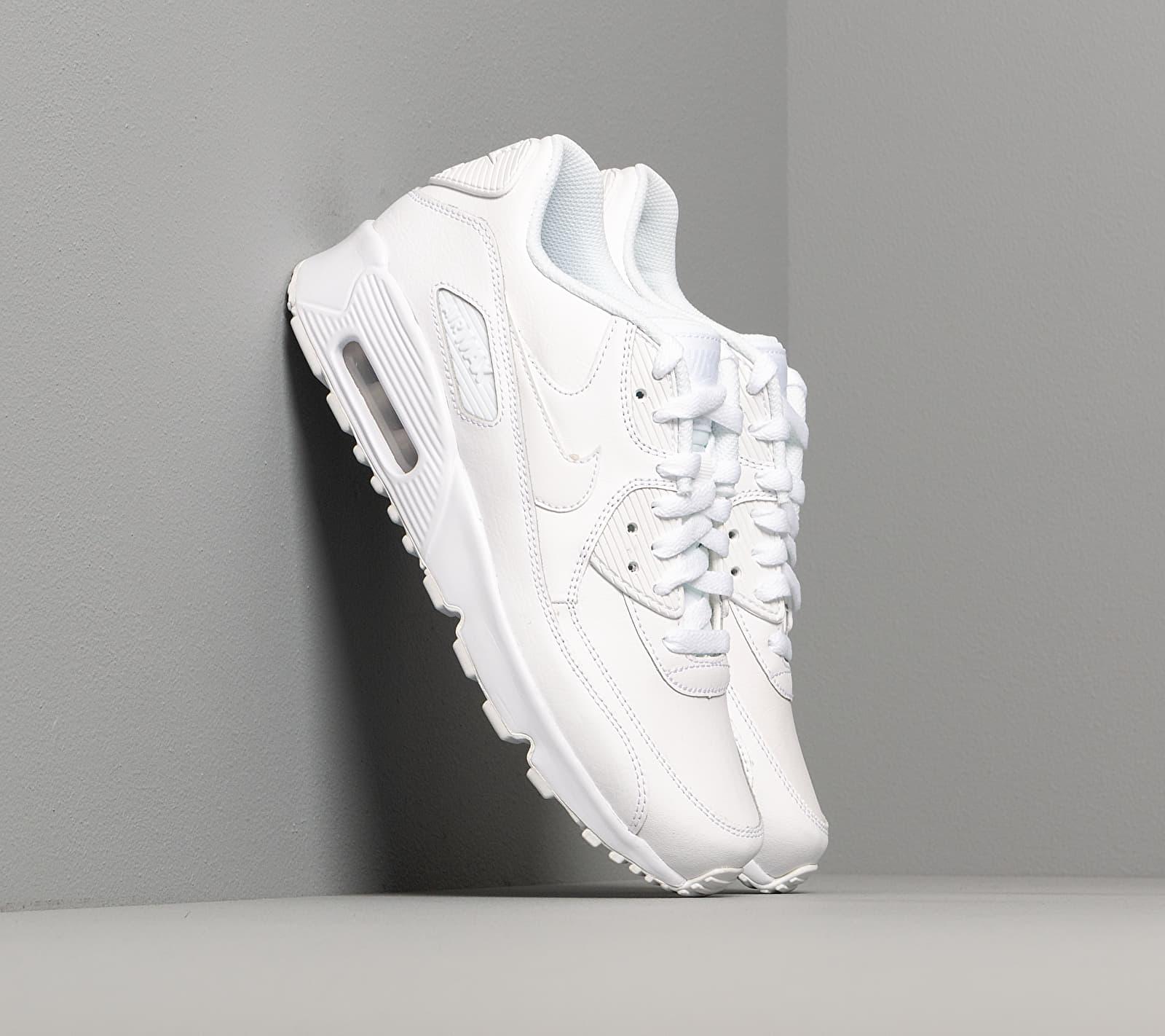 Nike Air Max 90 Ltr (GS) White/ White EUR 38