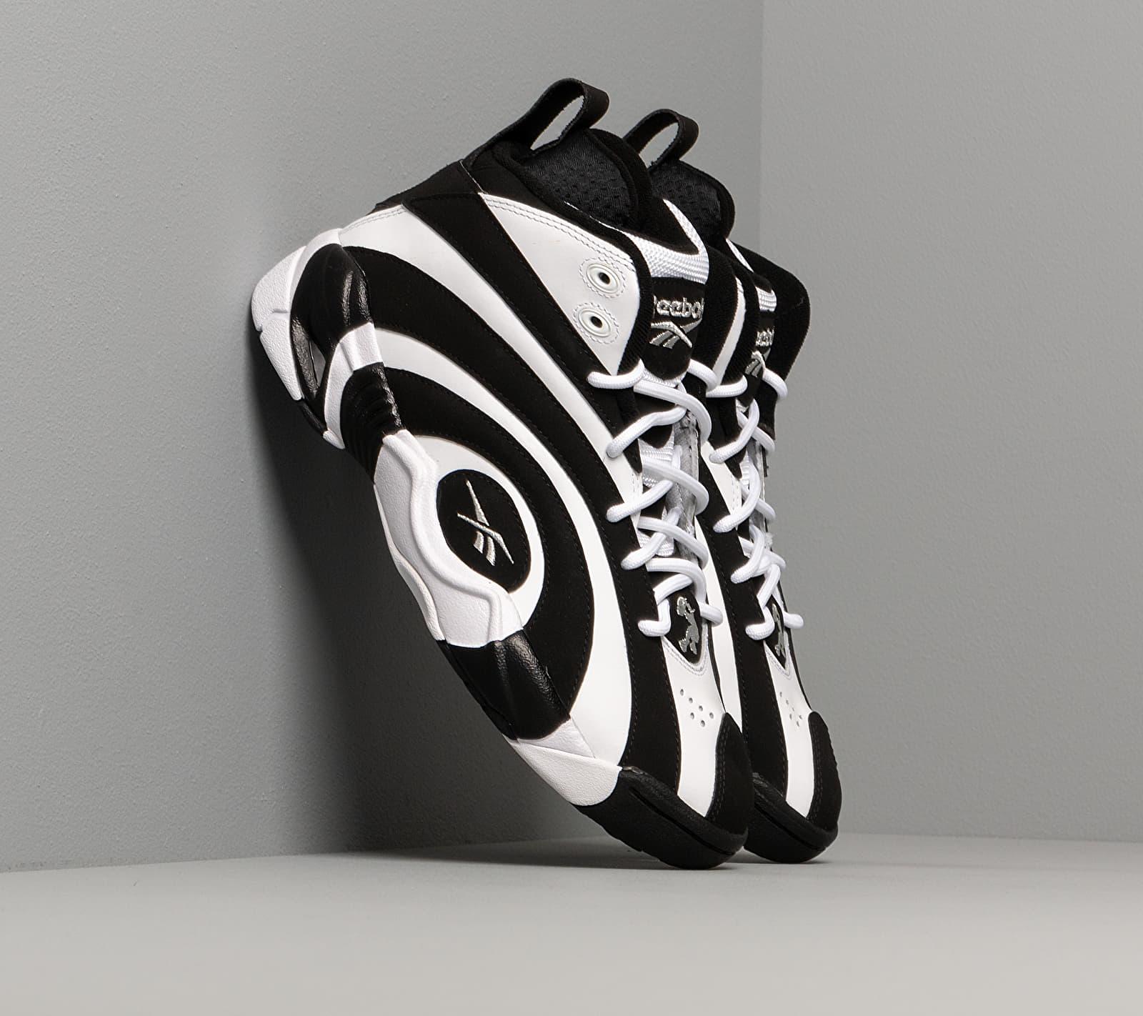 Reebok Shaqnosis Black/ White/ Silver Metalic EUR 39