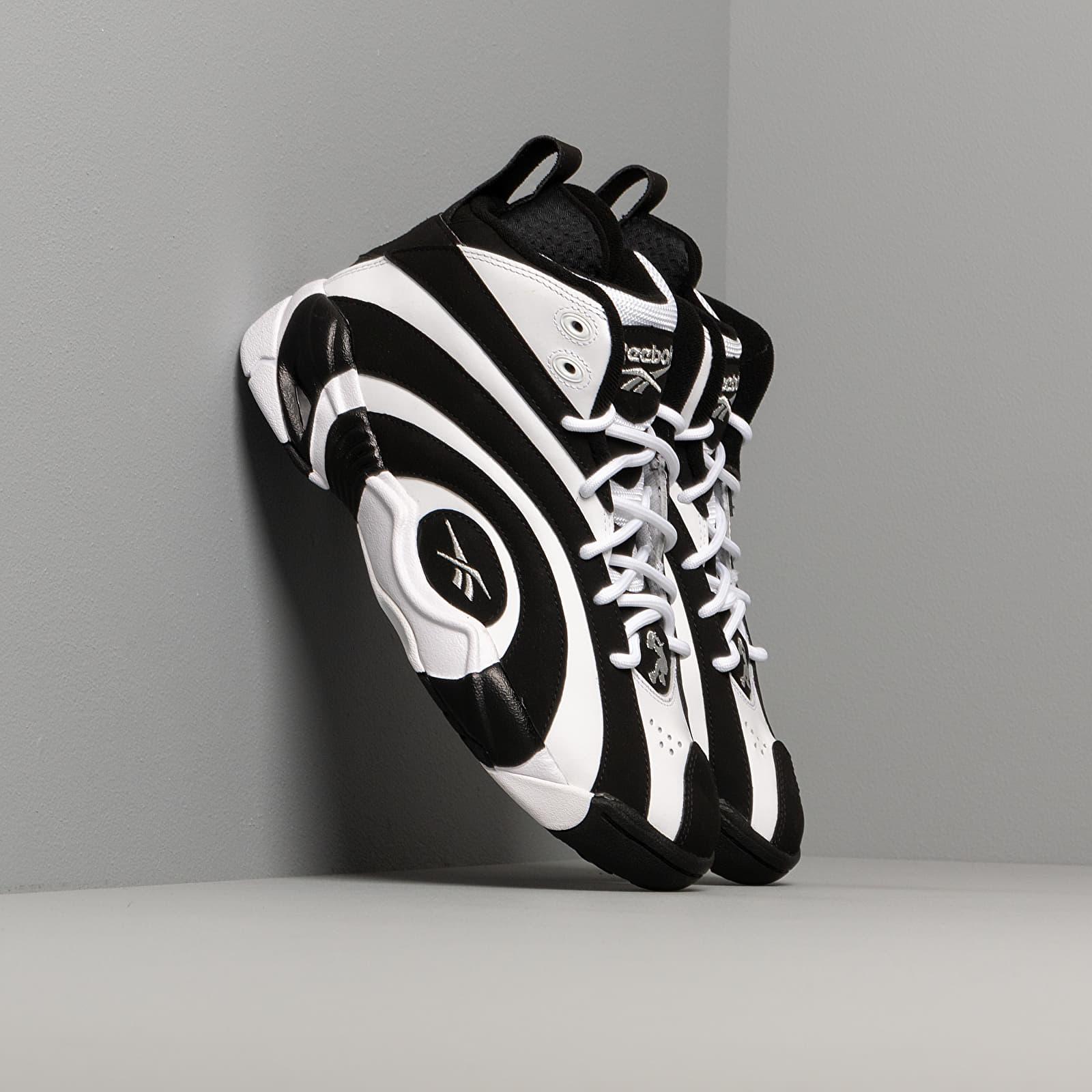 Men's shoes Reebok Shaqnosis Black/ White/ Silver Metalic