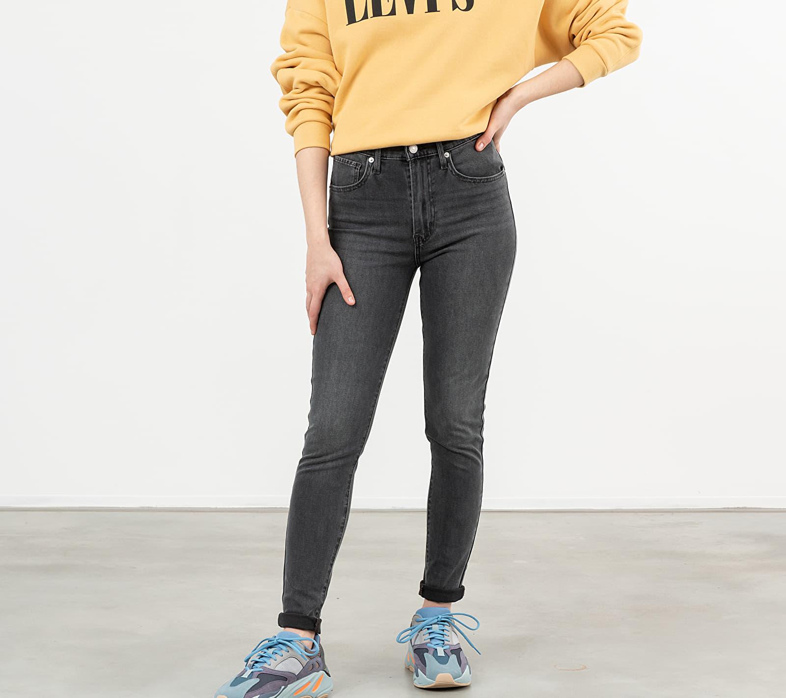 Levi's Mile High Super Skinny Jeans Smoke Show, Gray