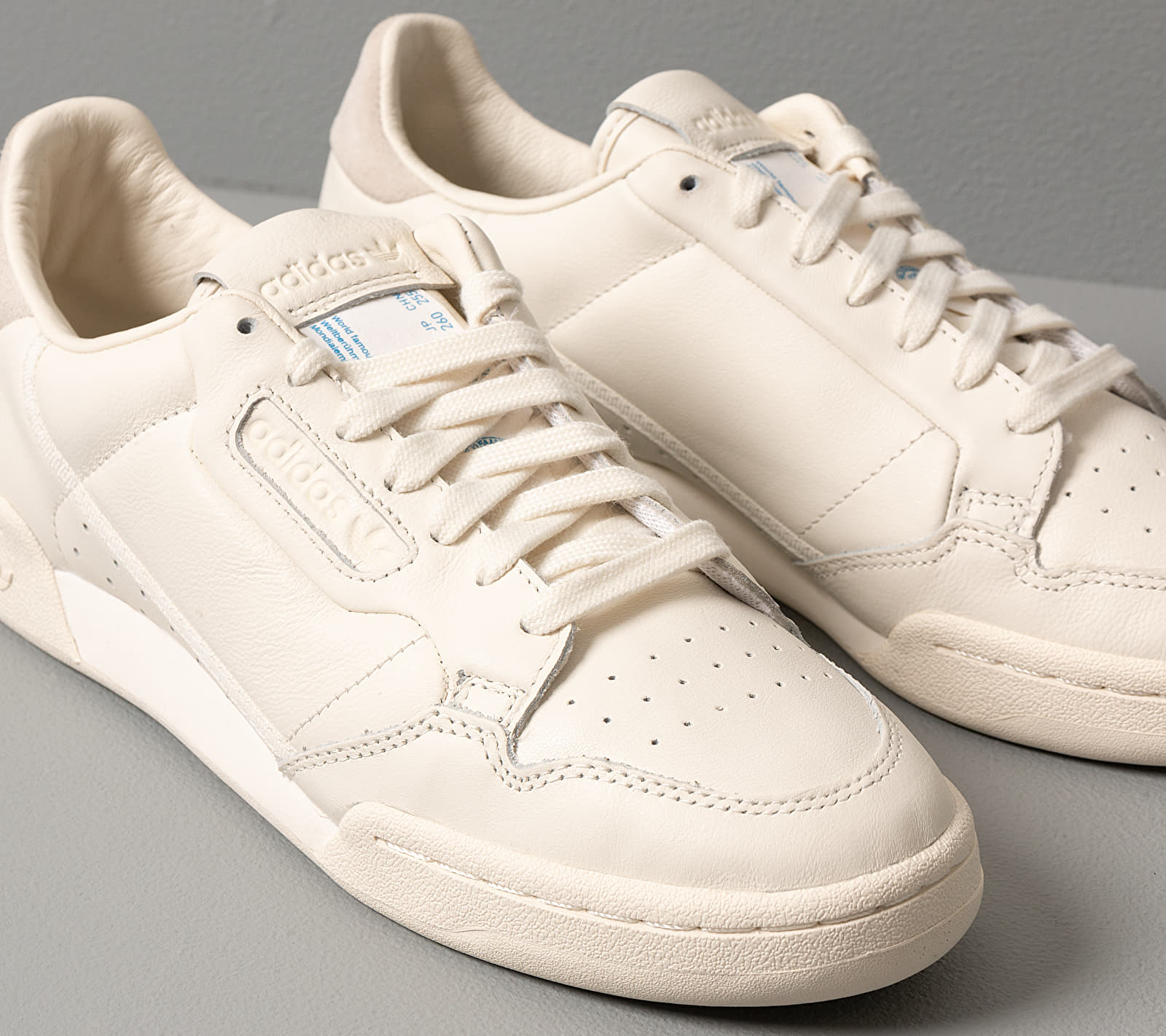 adidas Continental 80 Off White Off White Off White, Brown