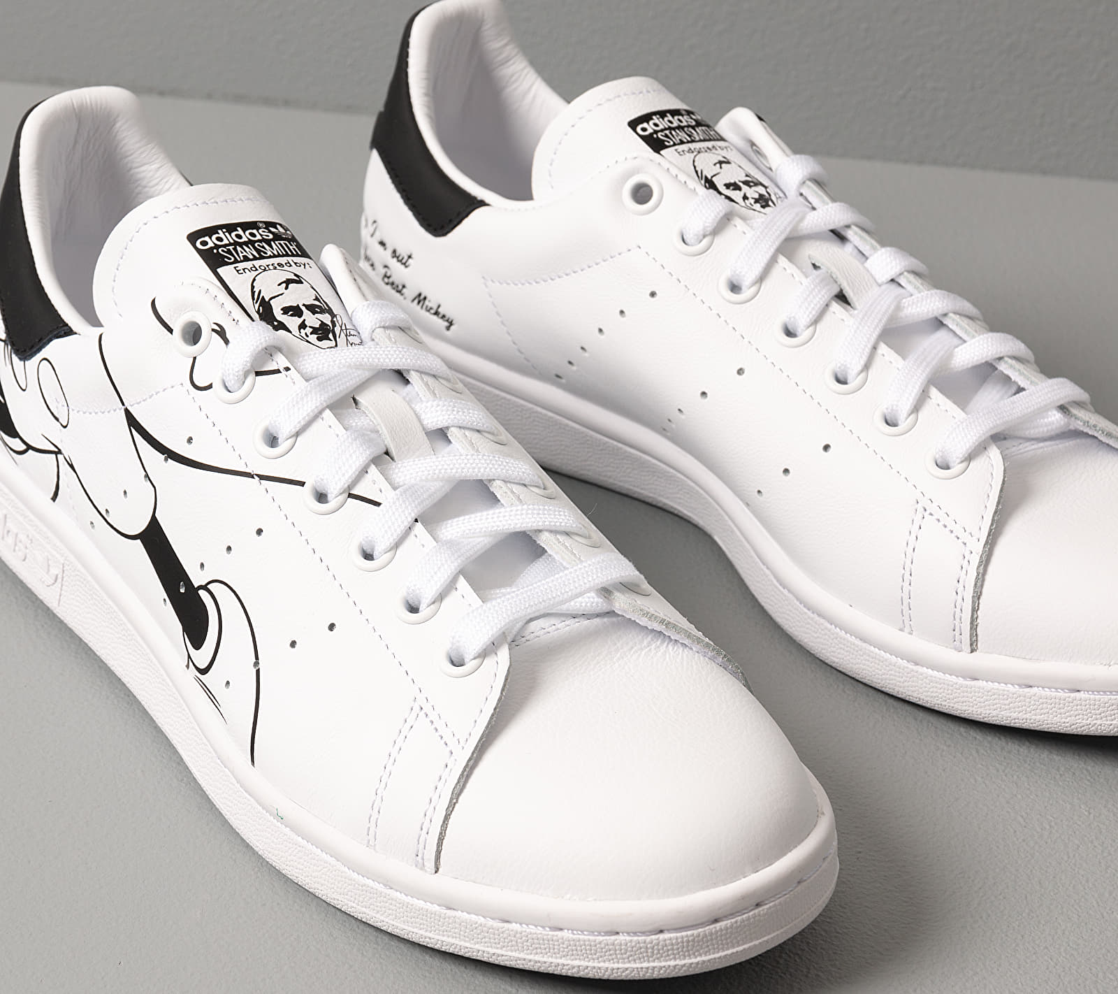 adidas Stan Smith Mickey Mouse Ftwr White/ Core Black/ Ftwr White, Brown