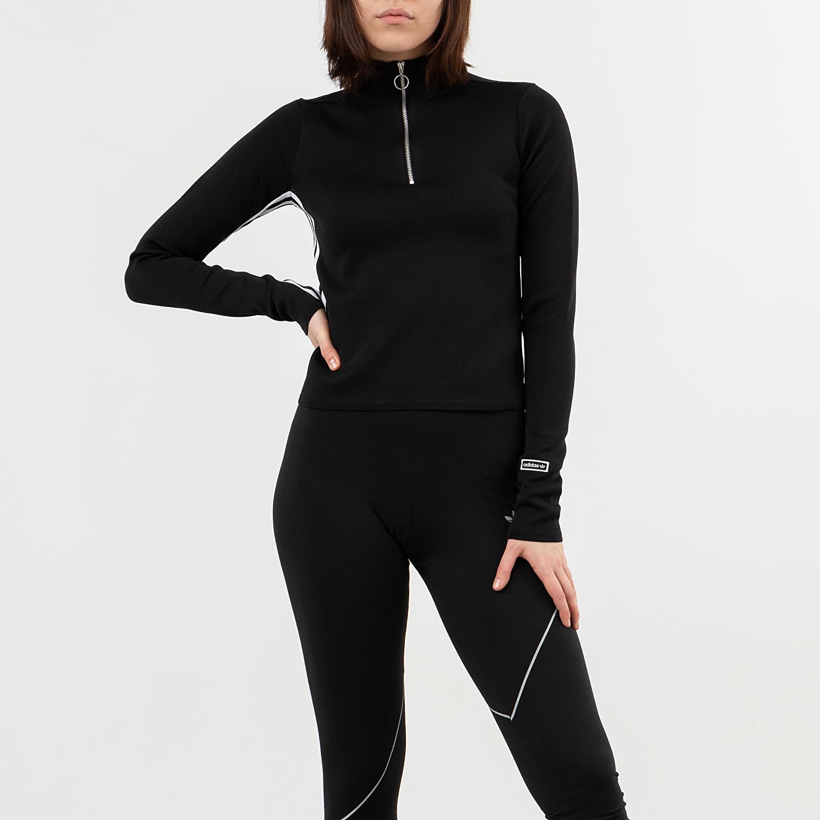 Sudaderas y suéteres adidas Tracktop Black
