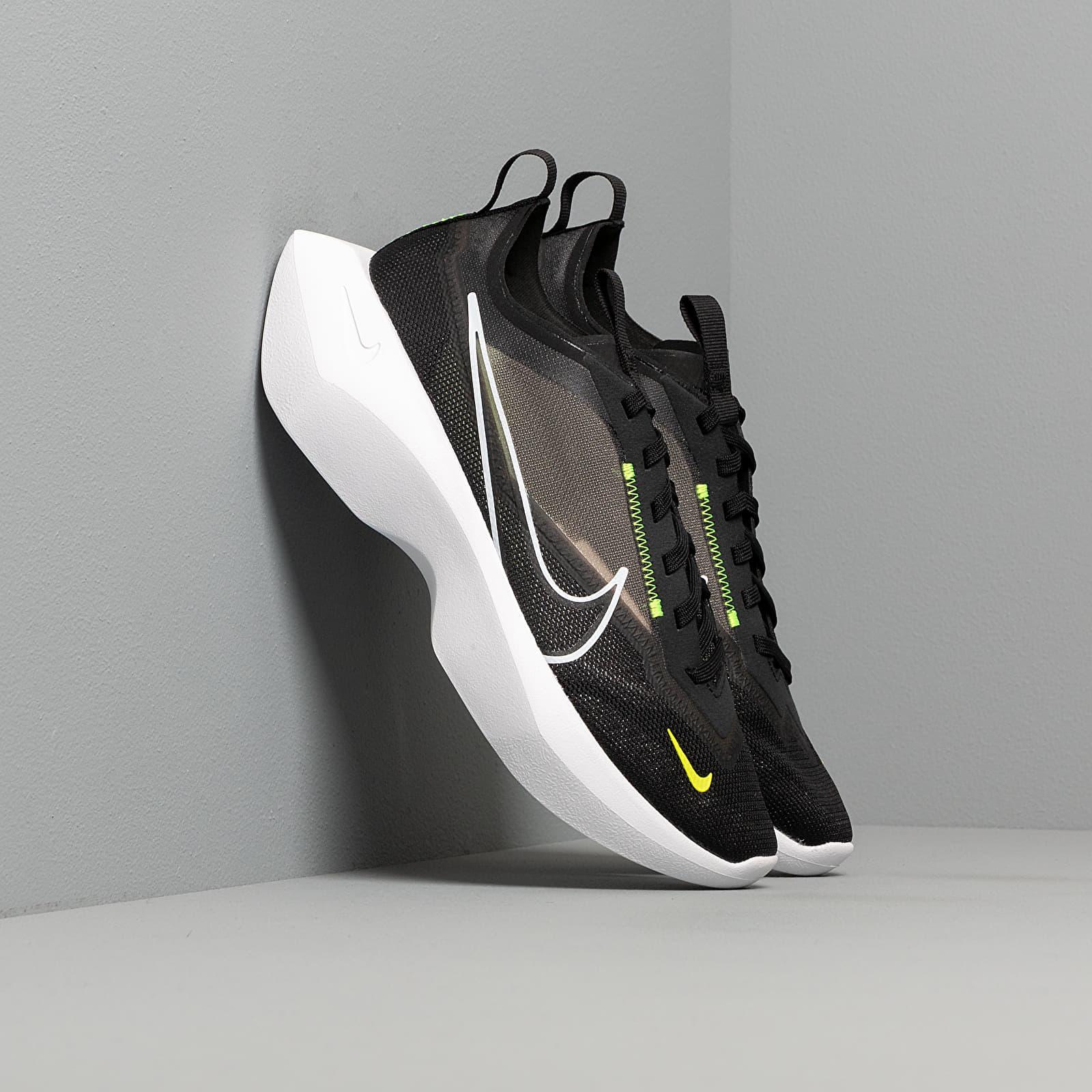 Dámské tenisky a boty Nike W Vista Lite Black/ White-Lemon Venom