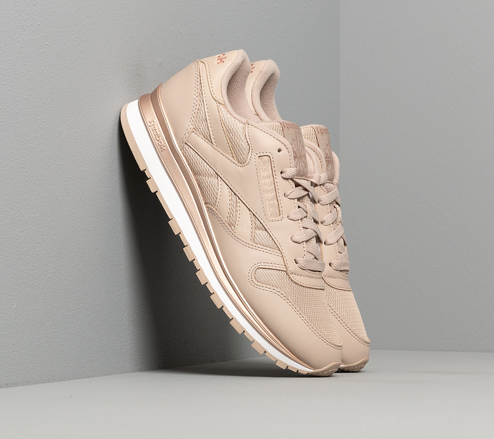 Reebok Classic Leather Modern Beige/ Rose Gold/ White EUR 41