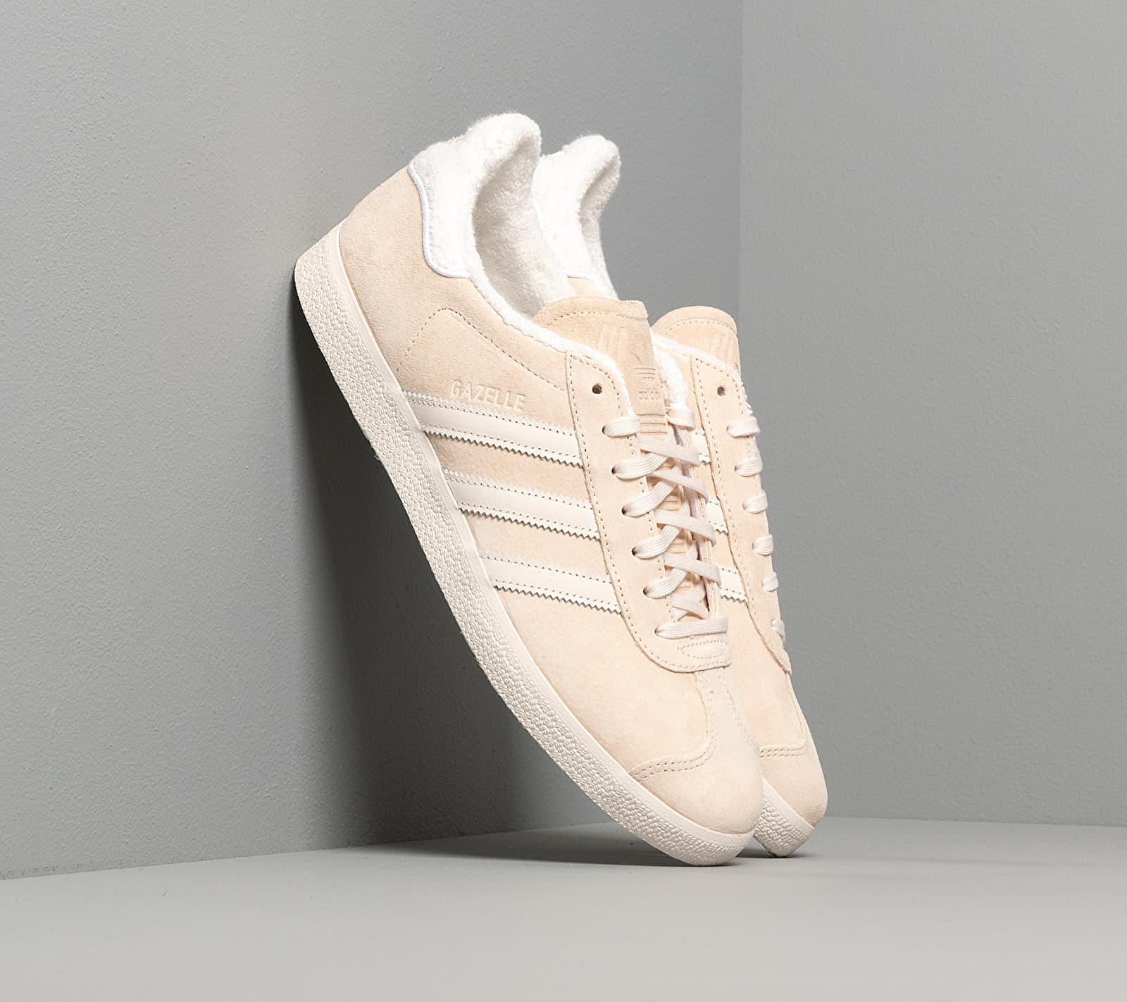 adidas Gazelle Ecru Tint/ Core White/ Ftw White EUR 46