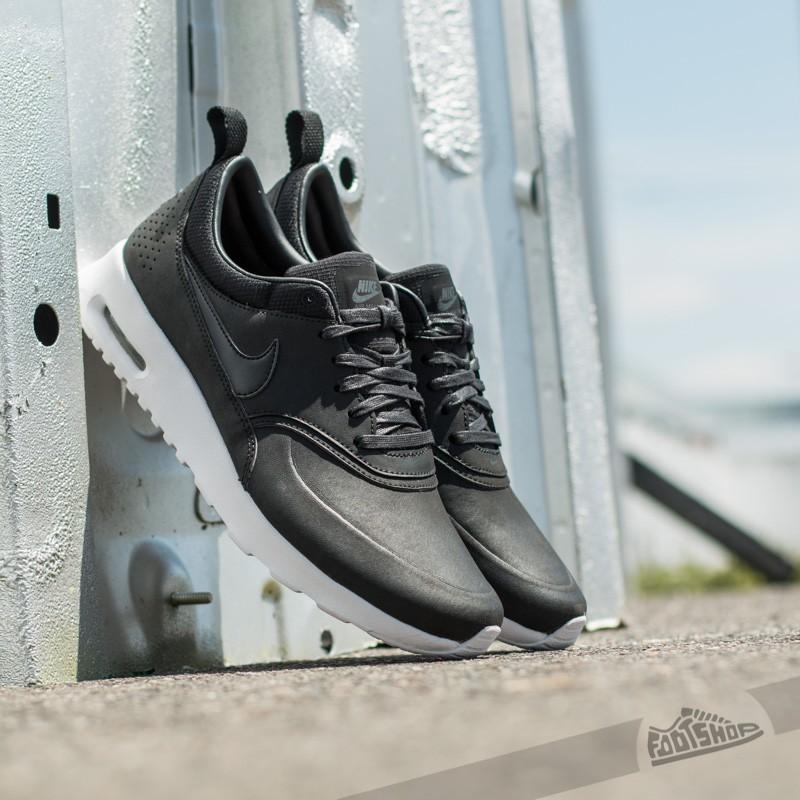 Womens Black Nike Air Max Thea Premium Shoe