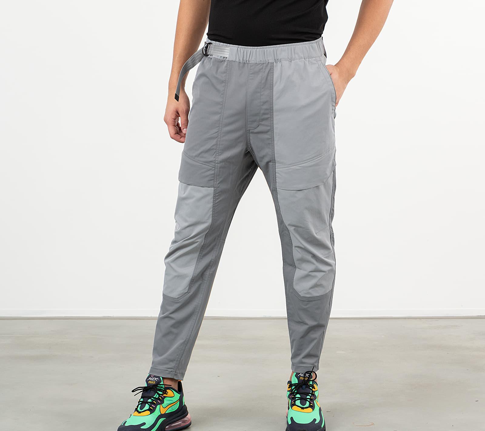 Nike Sportswear Tech Pack Woven Pants Smoke Grey/ Particle Grey/ Black, Gray