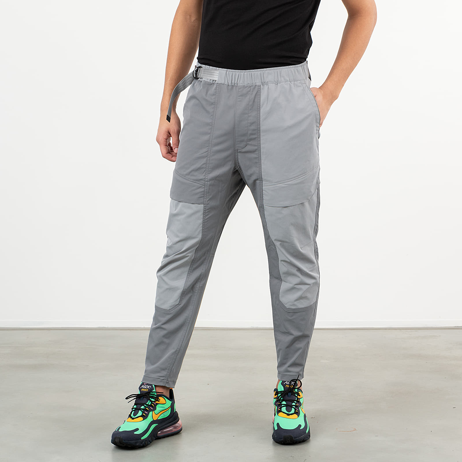 Nike Sportswear Tech Pack Woven Pants Smoke Grey Particle Grey Black | Footshop