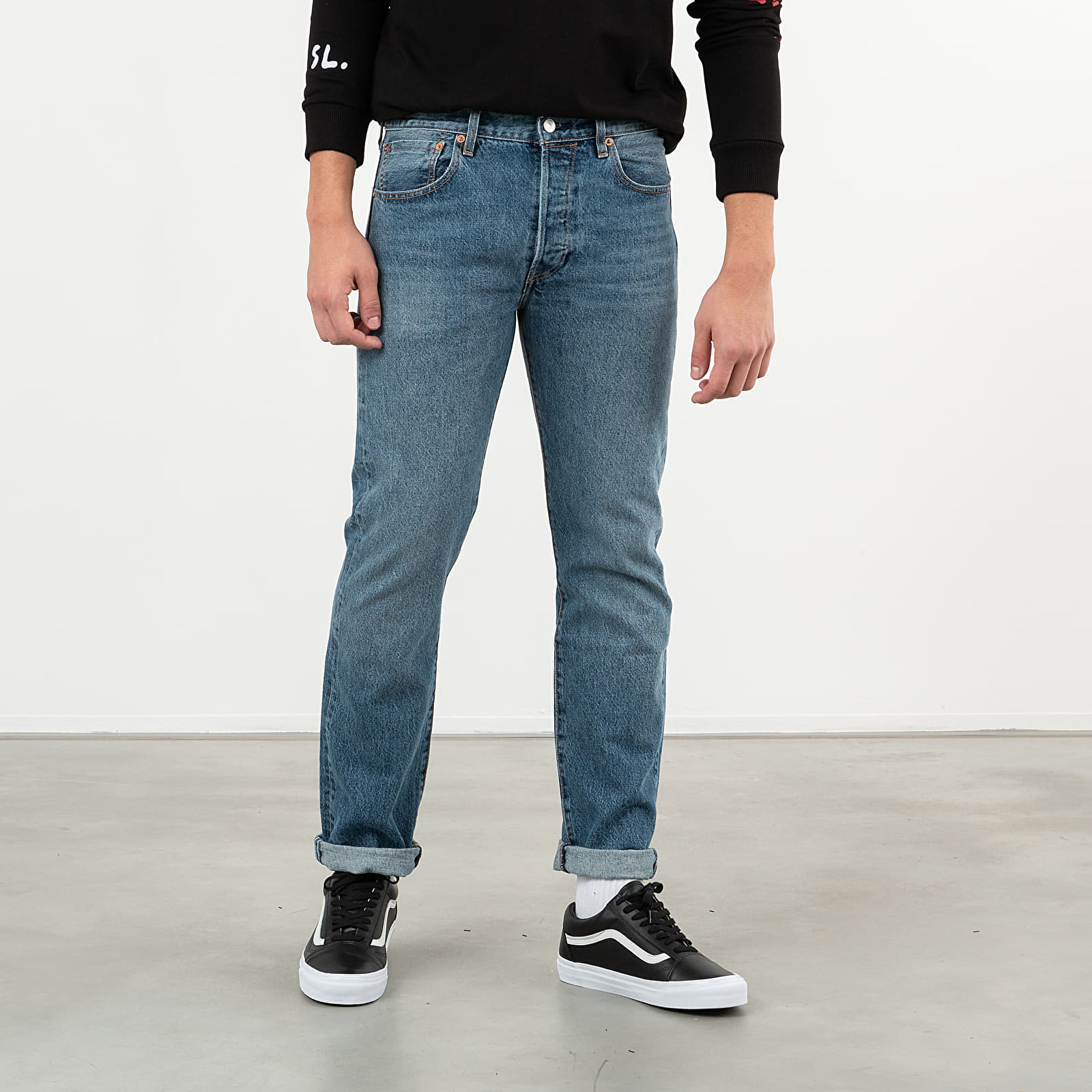 Hosen und Jeans Levi's® 501 Original Jeans Blue