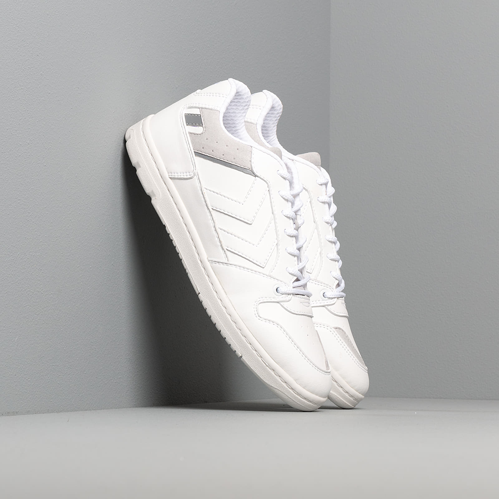 Chaussures et baskets homme Hummel Power Play Premium White