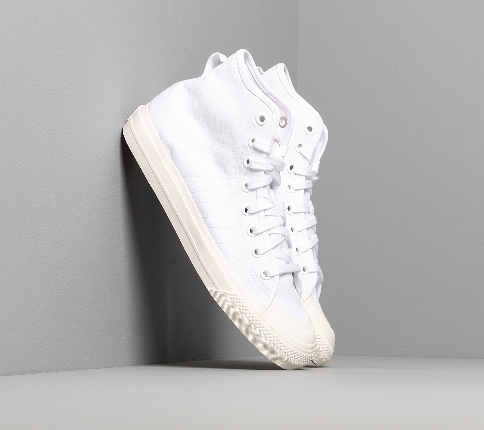adidas Nizza Hi Rf Ftw White/ Ftw White/ Off White EUR 45 1/3