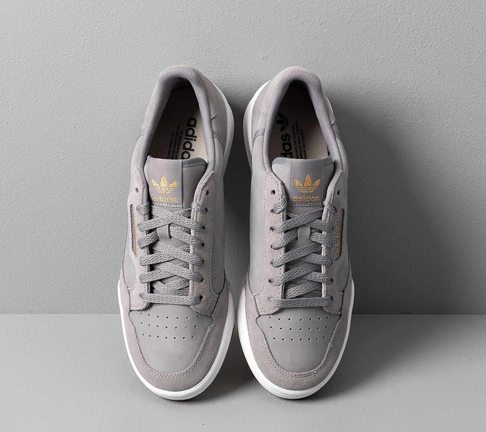 adidas Continental 80 W Grey Three/ Sesame/ Ftw White, Gray