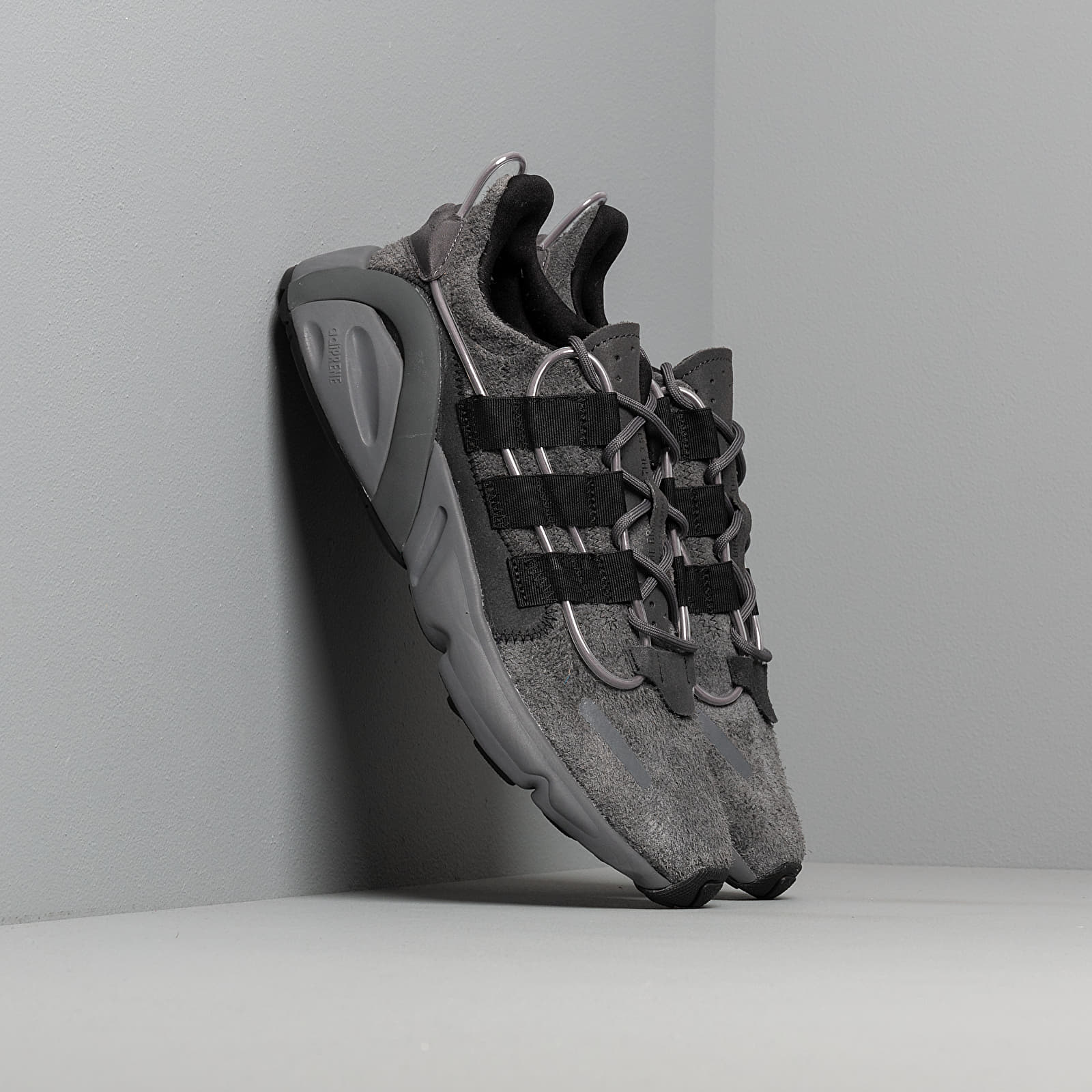 Men's shoes adidas LXCON Grey Six/ Core Black/ Siggnr