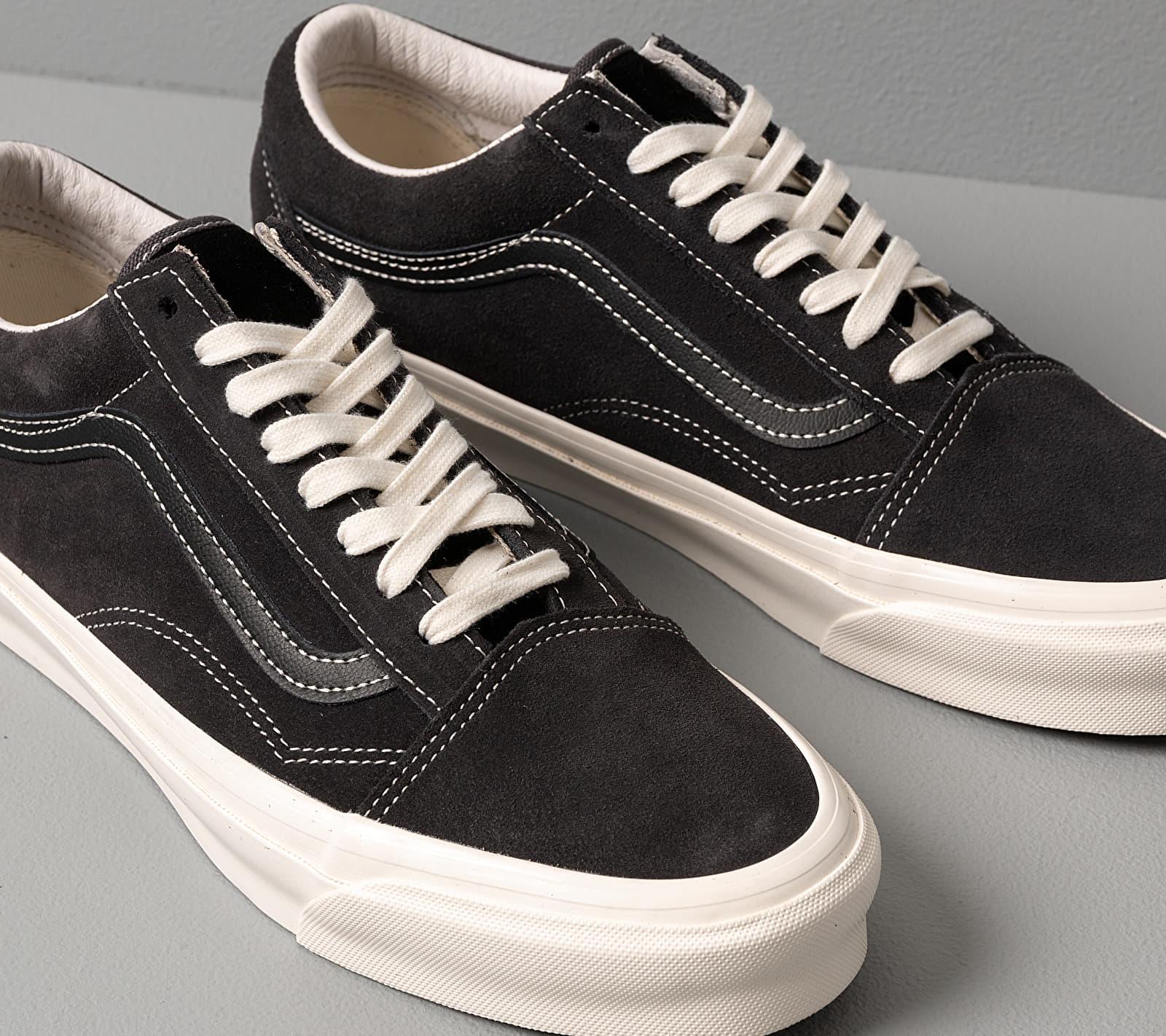 Vans OG Old Skool LX (Suede) Asphalt, Black