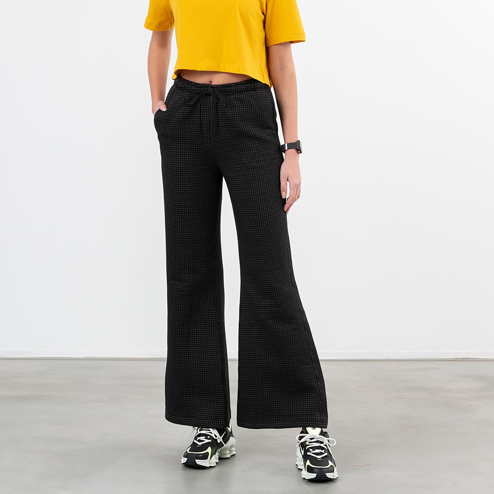 Nadrágok Nike Sportswear Tech Fleece Eng Oh Pants Black/ White