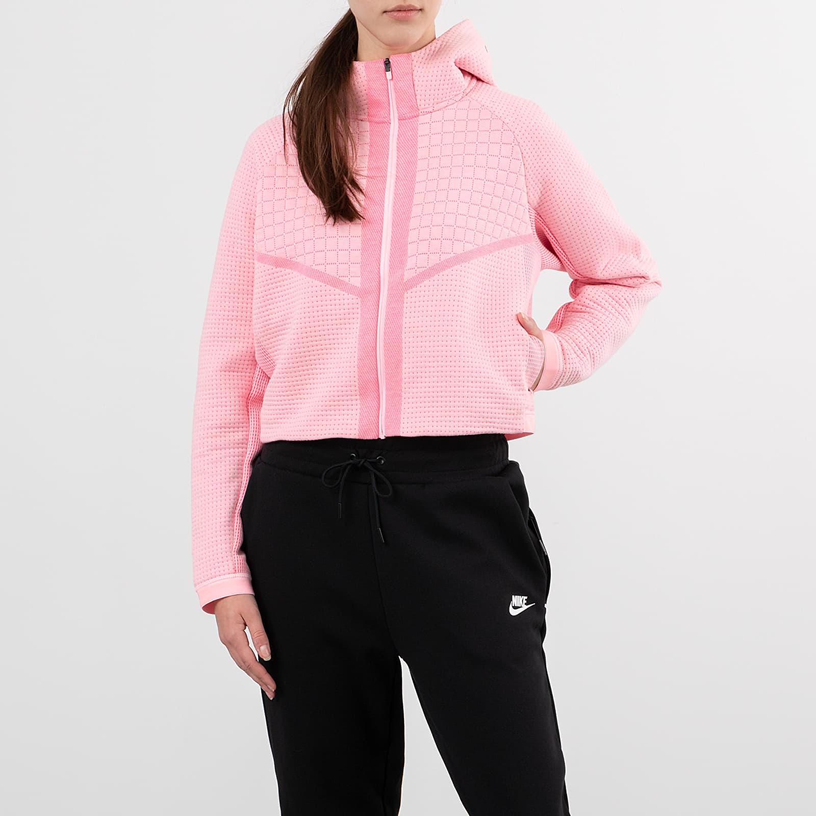 Jope in puloverji Nike Sportswear Tech Fleece Eng Fullzip Hoodie Arctic Punch/ White