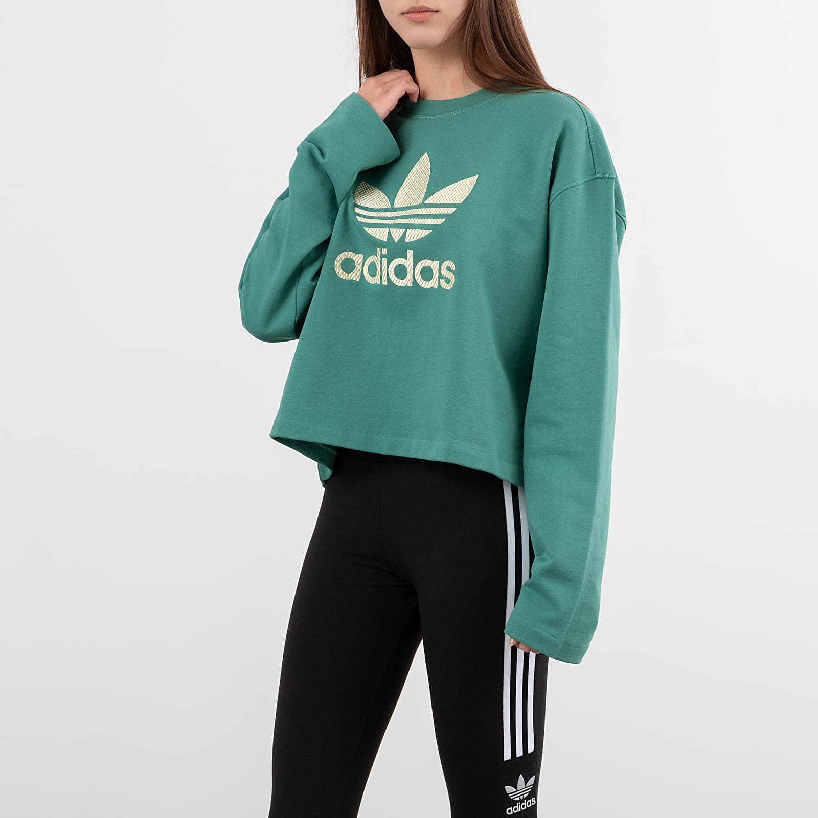 Sweatshirts adidas LG Crewneck Future Hydro F10