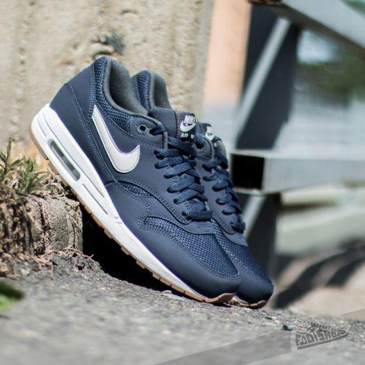 Nike Air Max 1 Essential Midnight Navy Light Bone White | Footshop