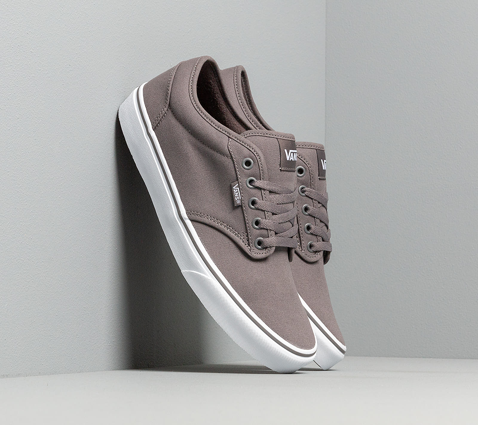 Vans Atwood (Canvas) Pewter/ White EUR 43