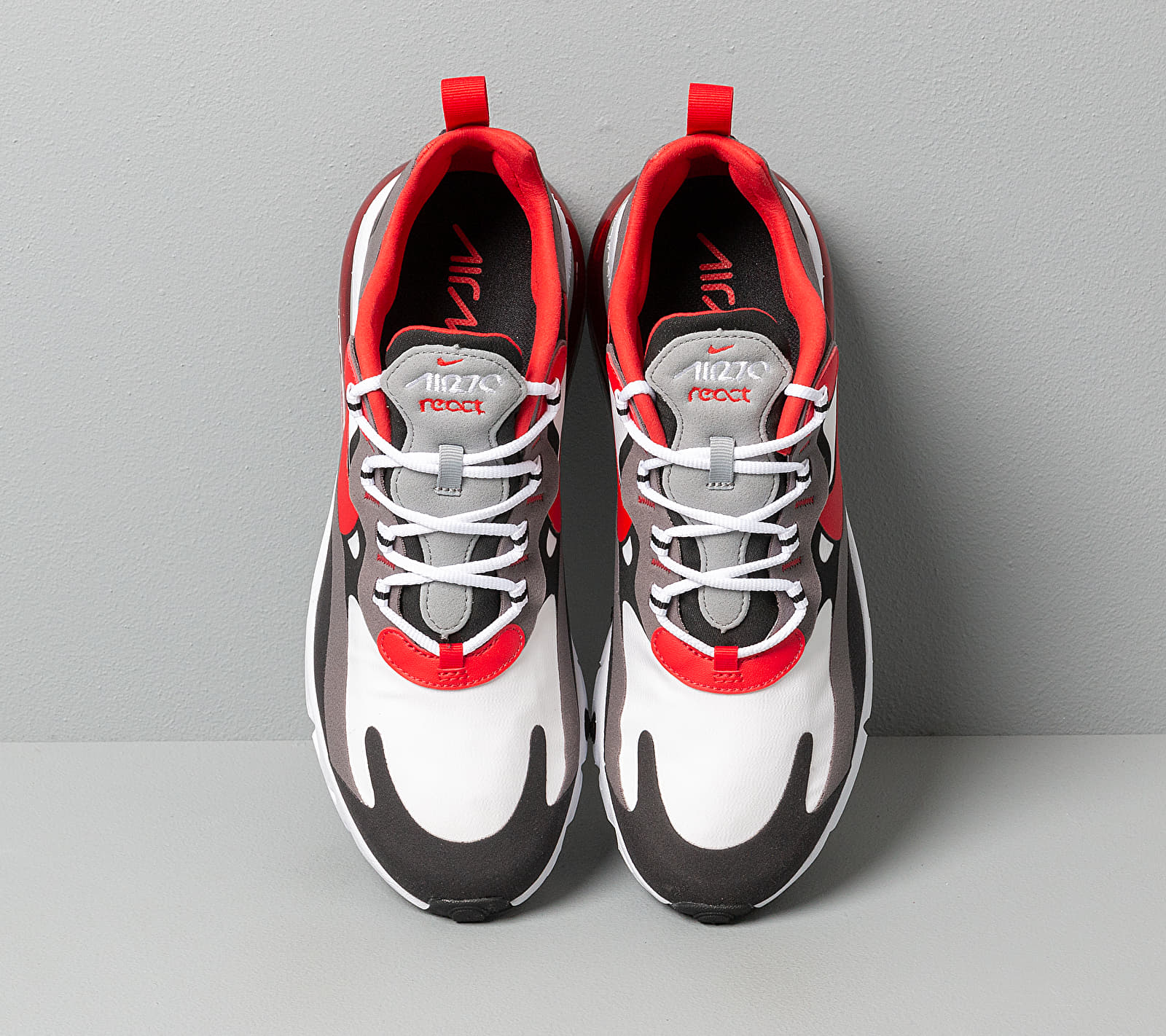 air max 270 red white black