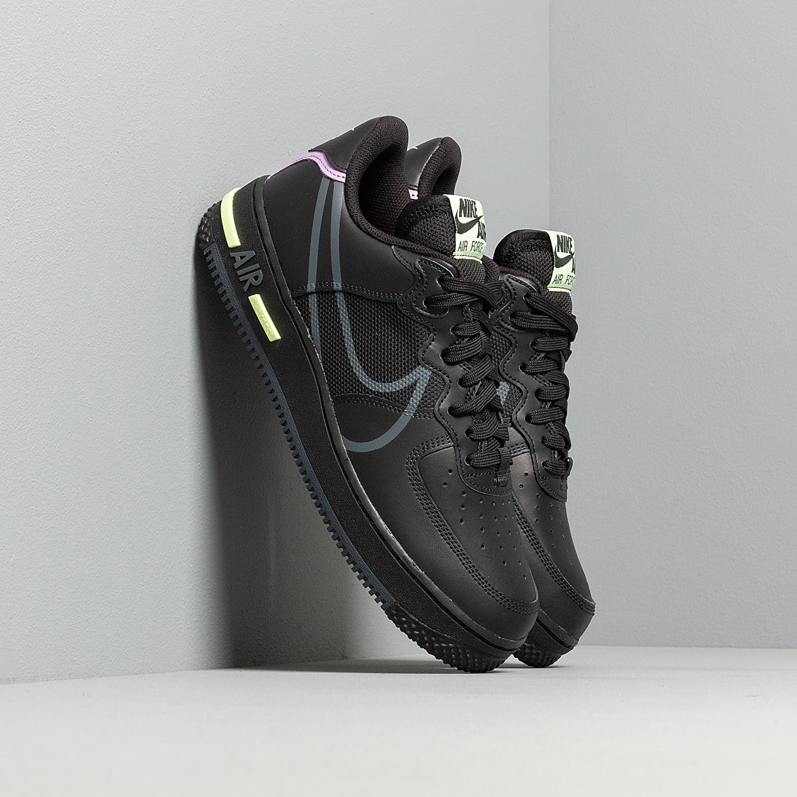air force 1 react noir